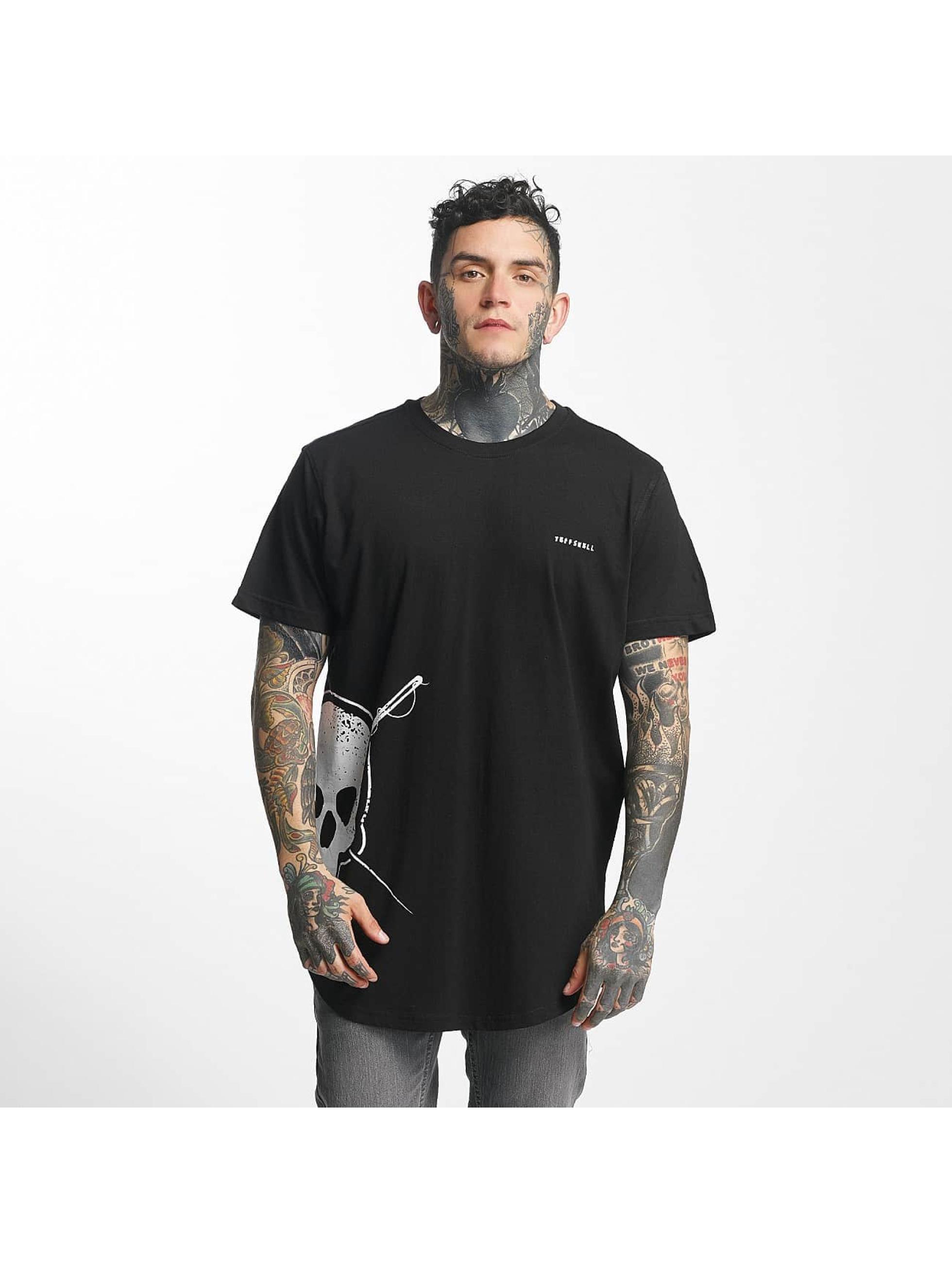 Tuffskull Männer T-Shirt Big Skull in schwarz