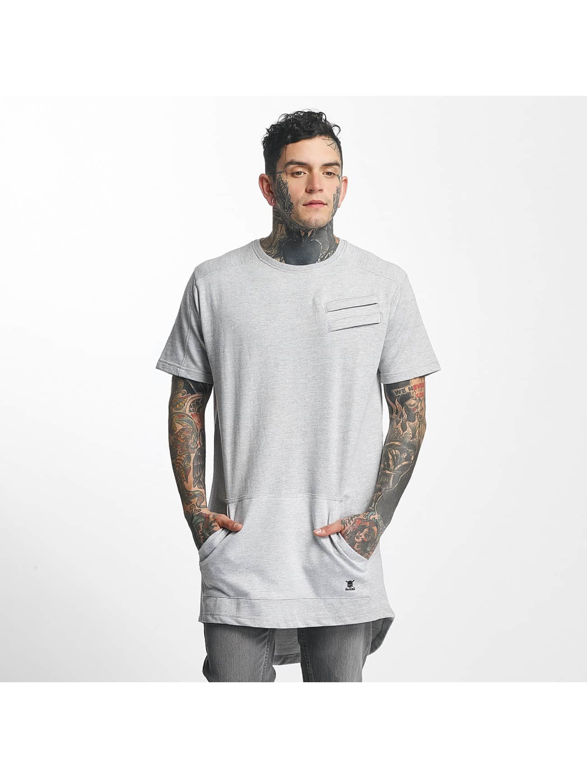 Tuffskull Männer T-Shirt Heavy in grau