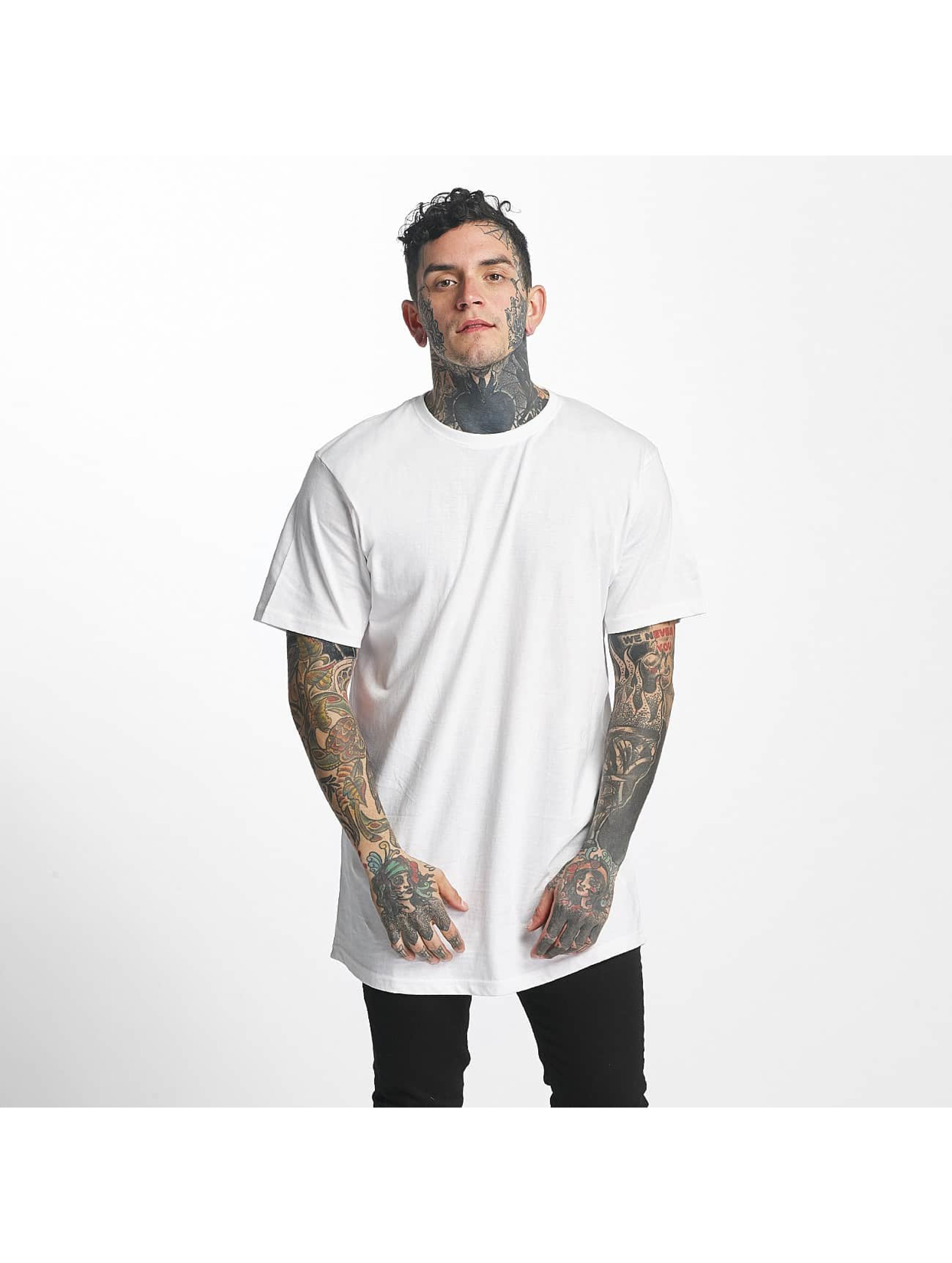 Tuffskull Männer Tall Tees nothing in weiß