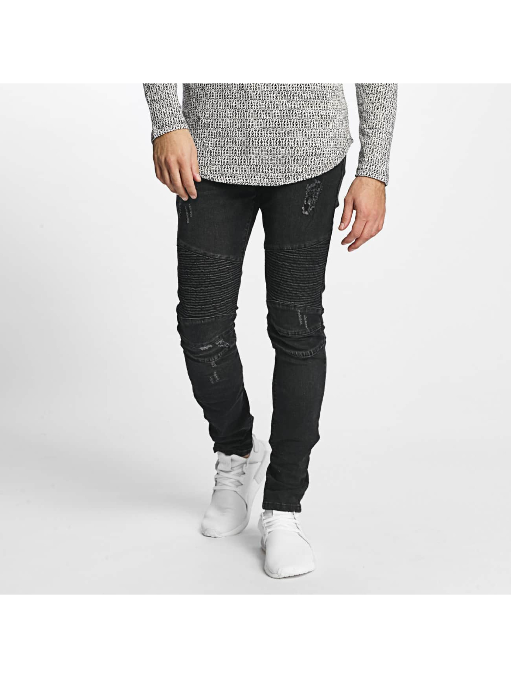 Aarhon Männer Slim Fit Jeans Pirmin in schwarz