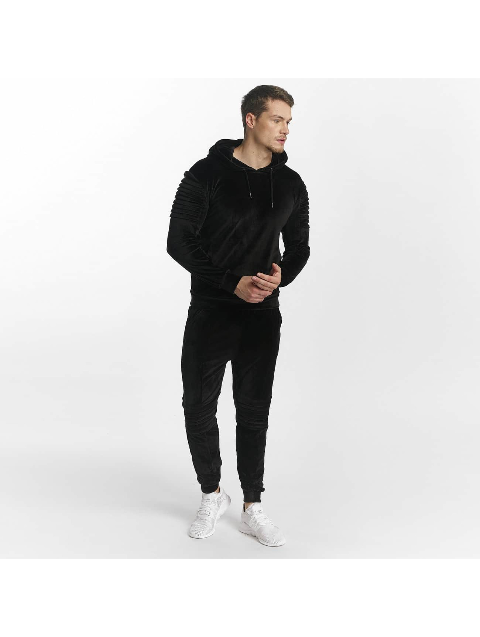 Aarhon Männer Anzug Calcio in schwarz