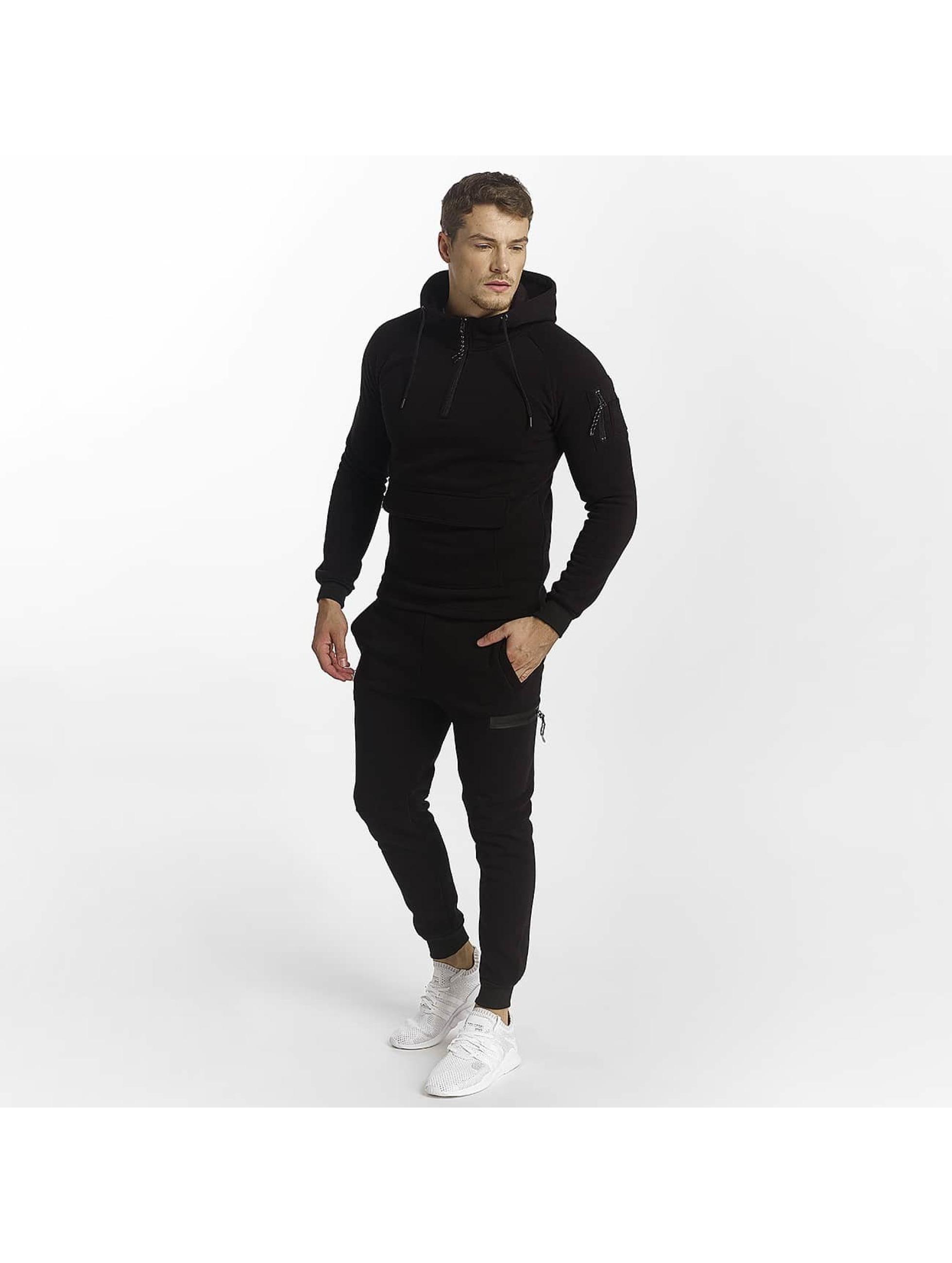 Aarhon Männer Anzug Sassuolo in schwarz