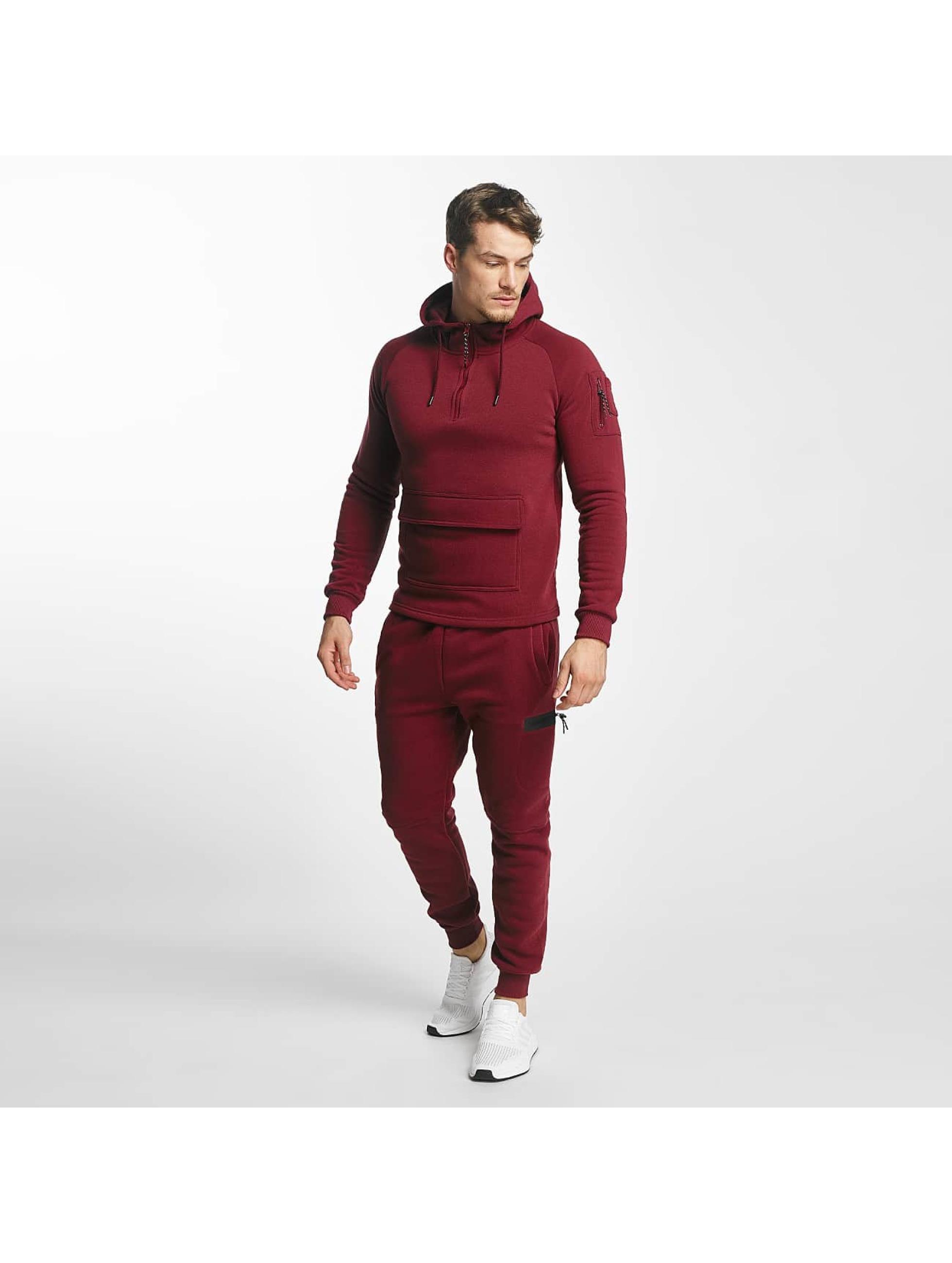 Aarhon Männer Anzug Bari in rot