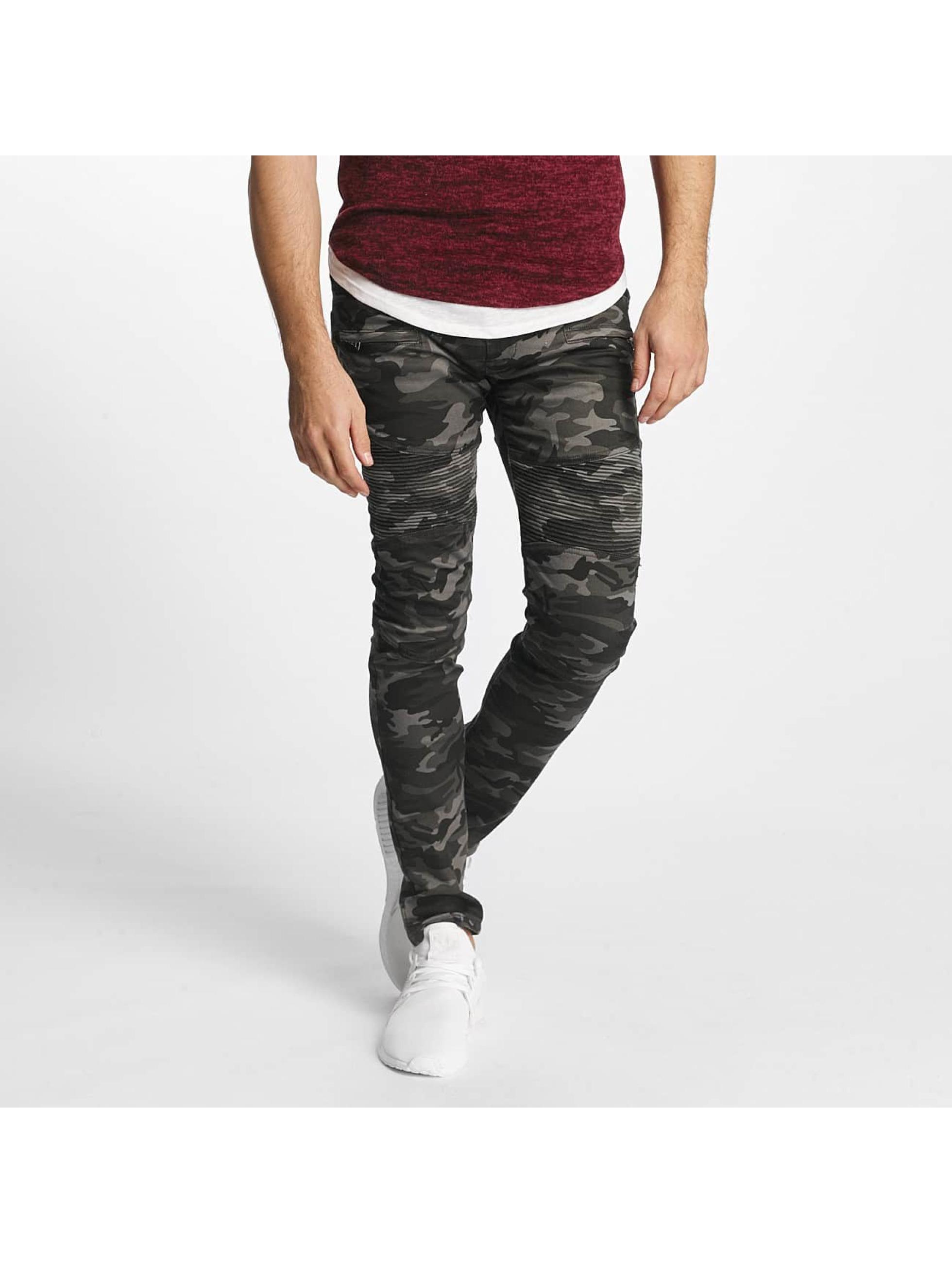 Aarhon Männer Slim Fit Jeans Fiorentina in grau