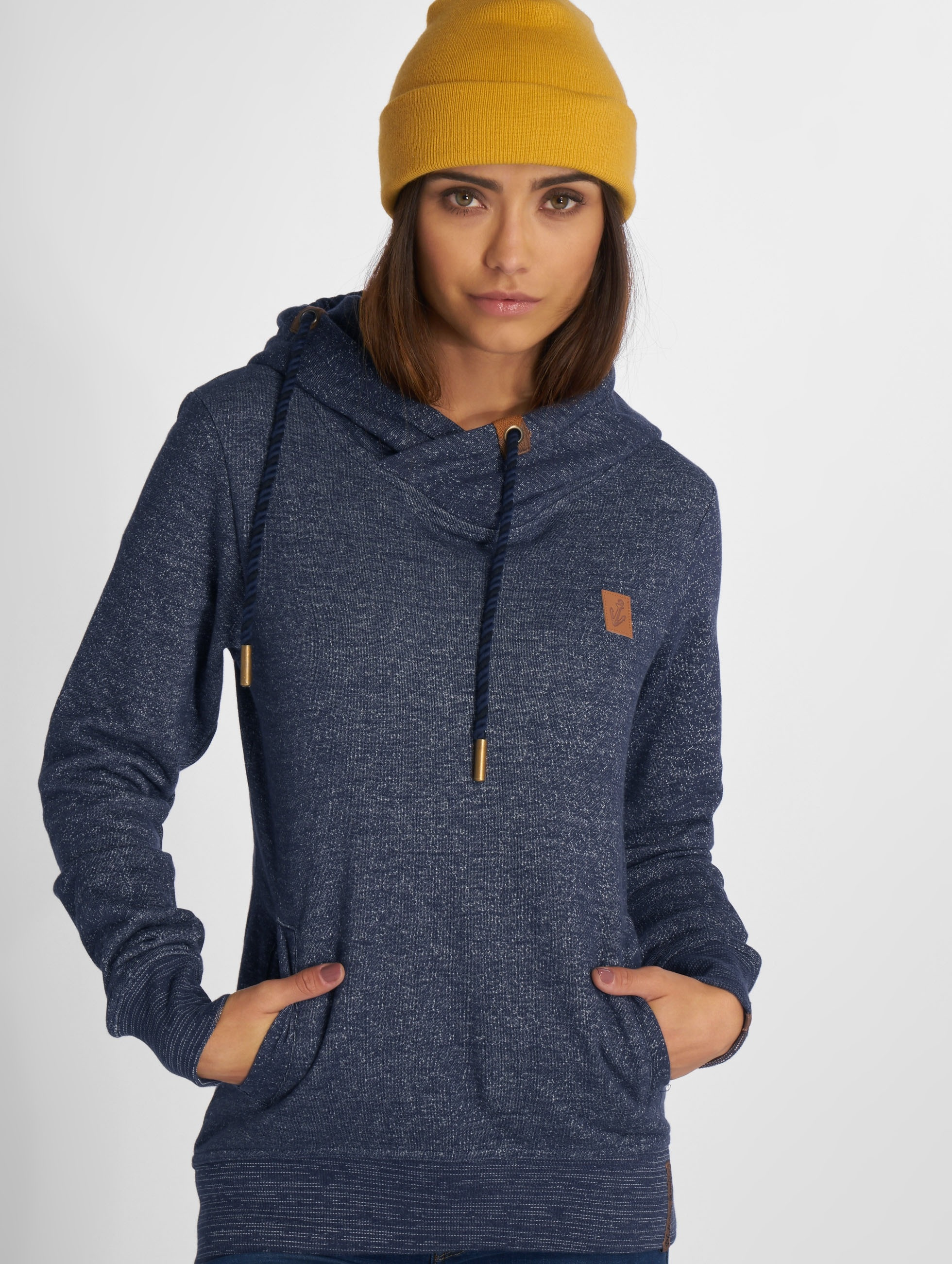 Platinum Anchor Frauen Hoody Nahiku in blau