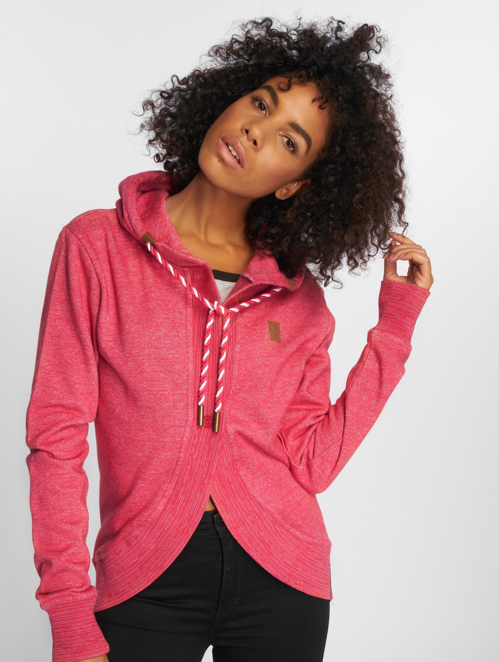 Platinum Anchor Frauen Strickjacke Wailua in pink