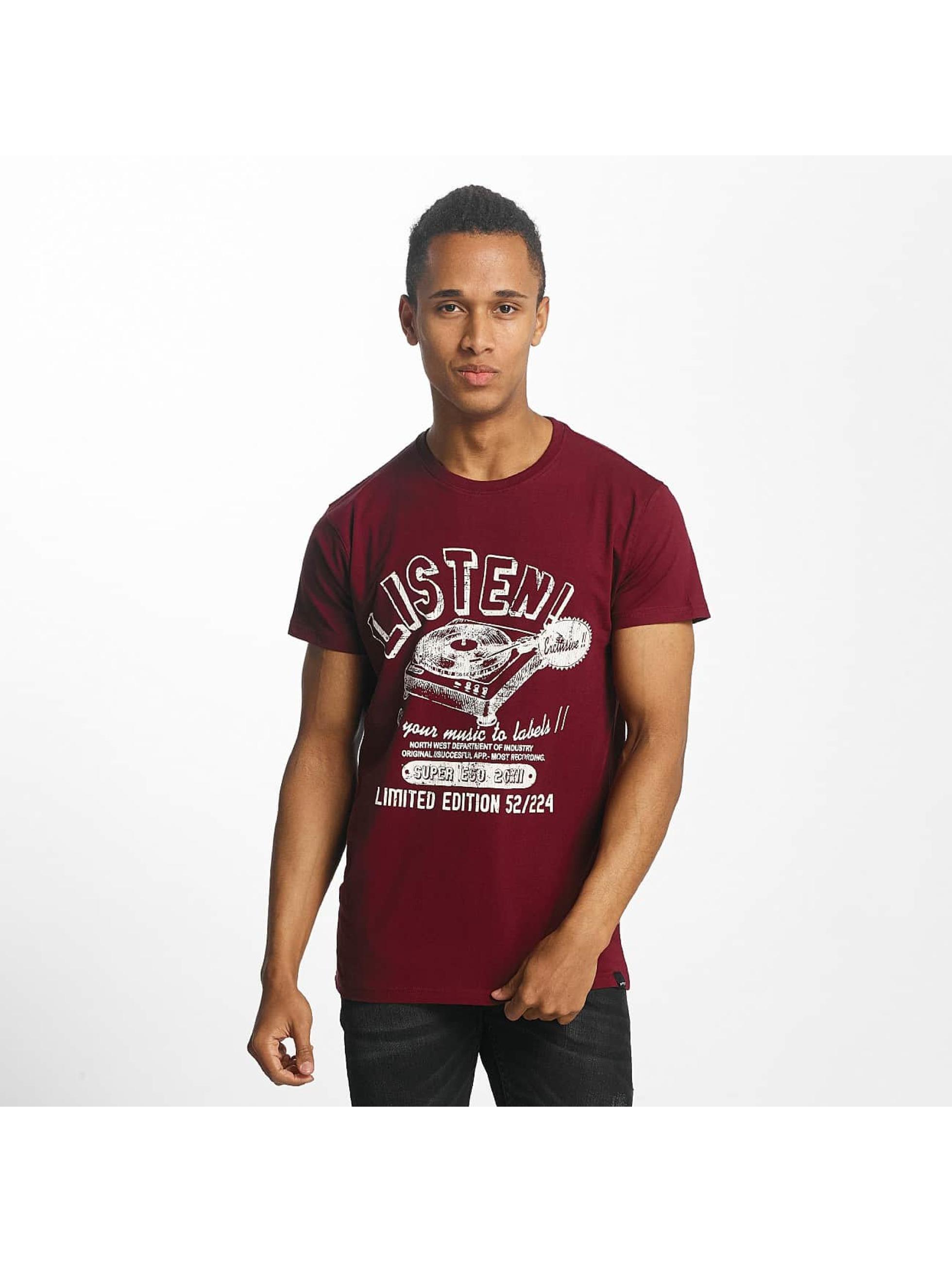 Paris Premium Männer T-Shirt Listen! in rot