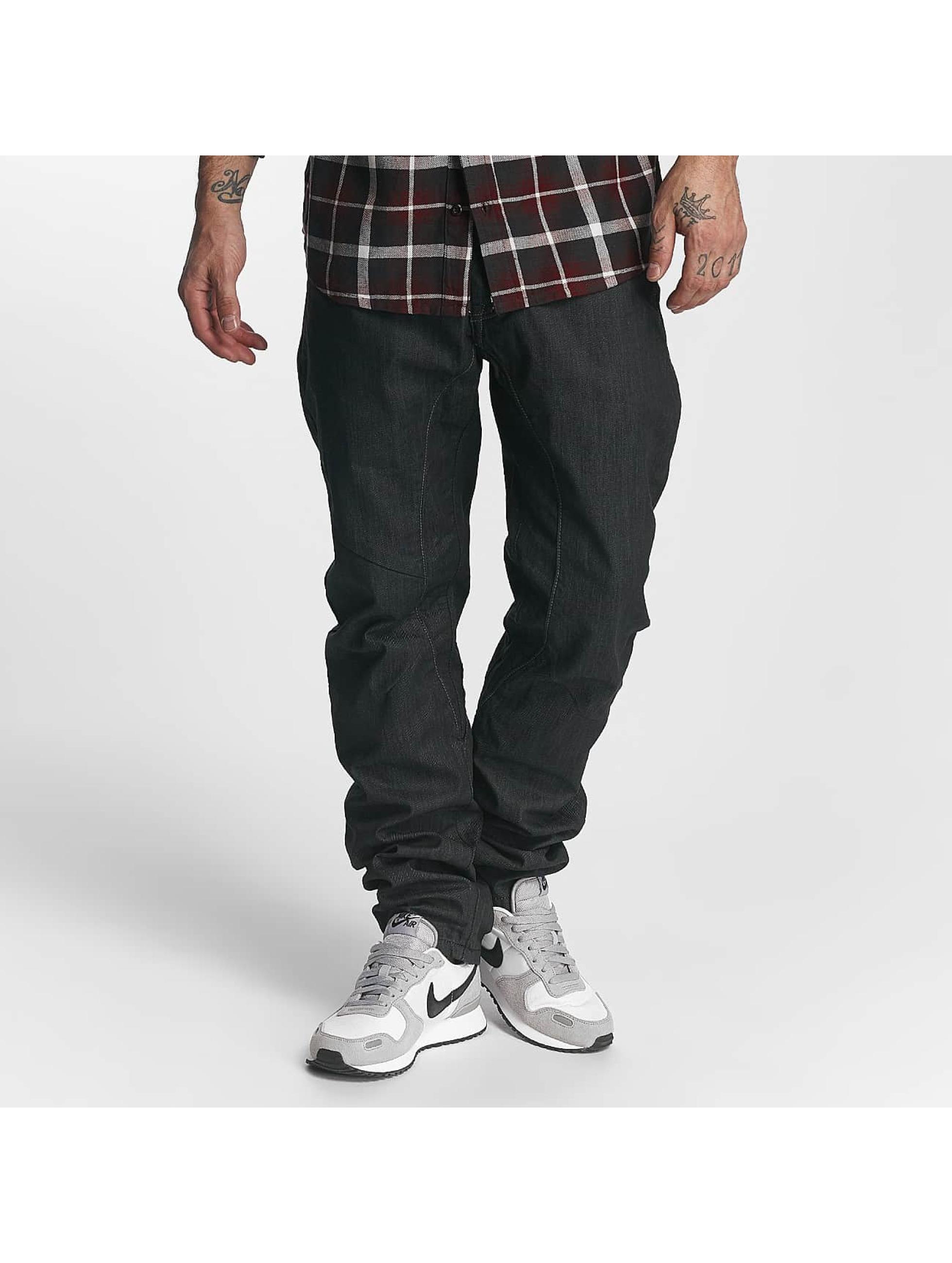 ID Denim Männer Straight Fit Jeans Tapered in blau