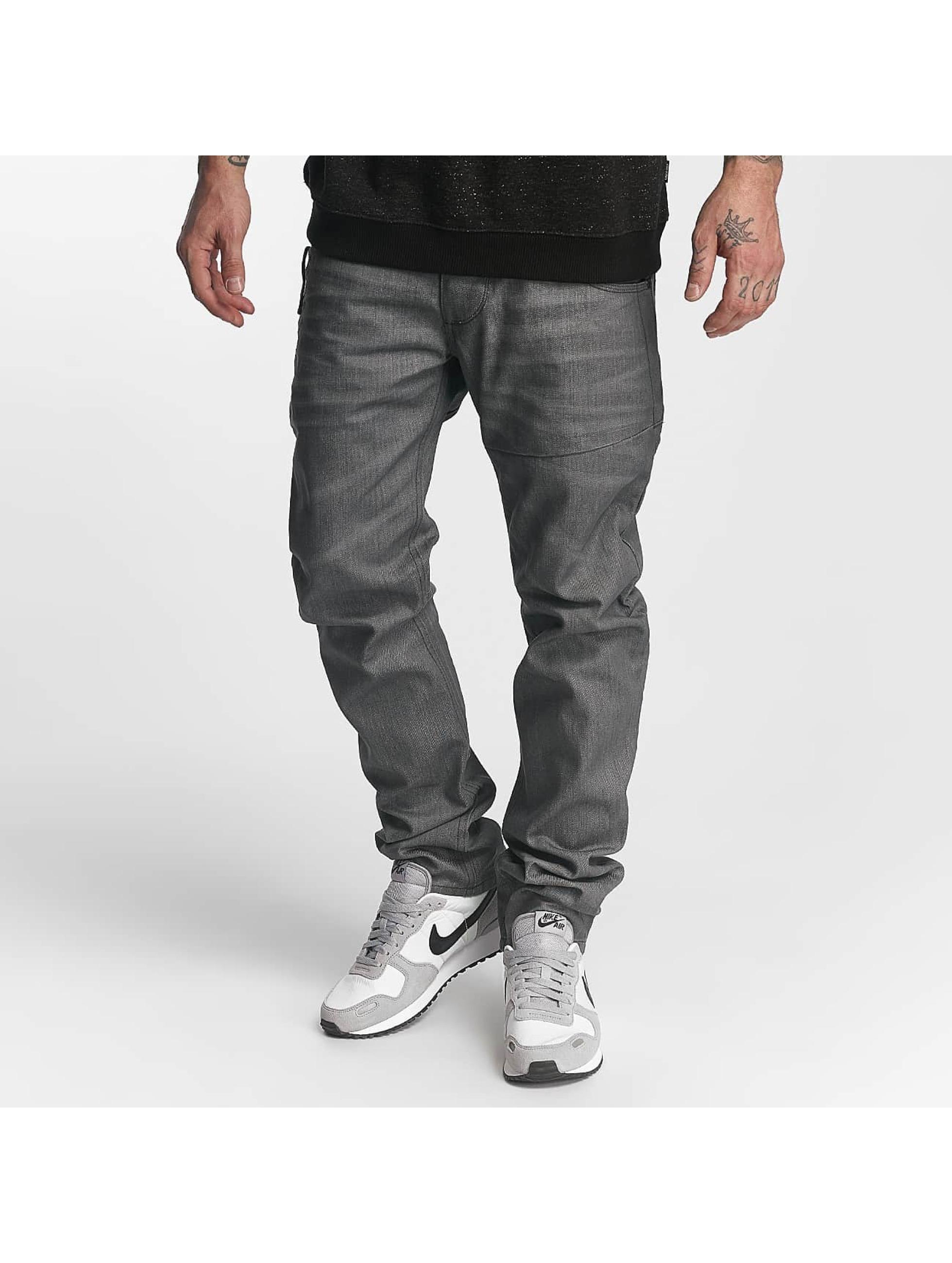 ID Denim Männer Straight Fit Jeans Straight in grau