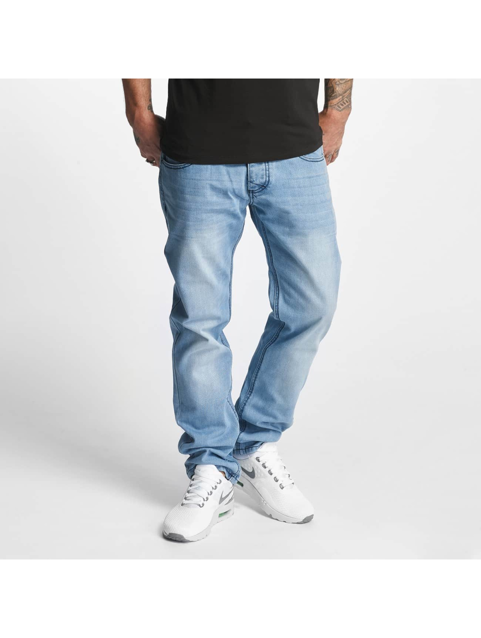 ID Denim Männer Straight Fit Jeans Jakes in blau