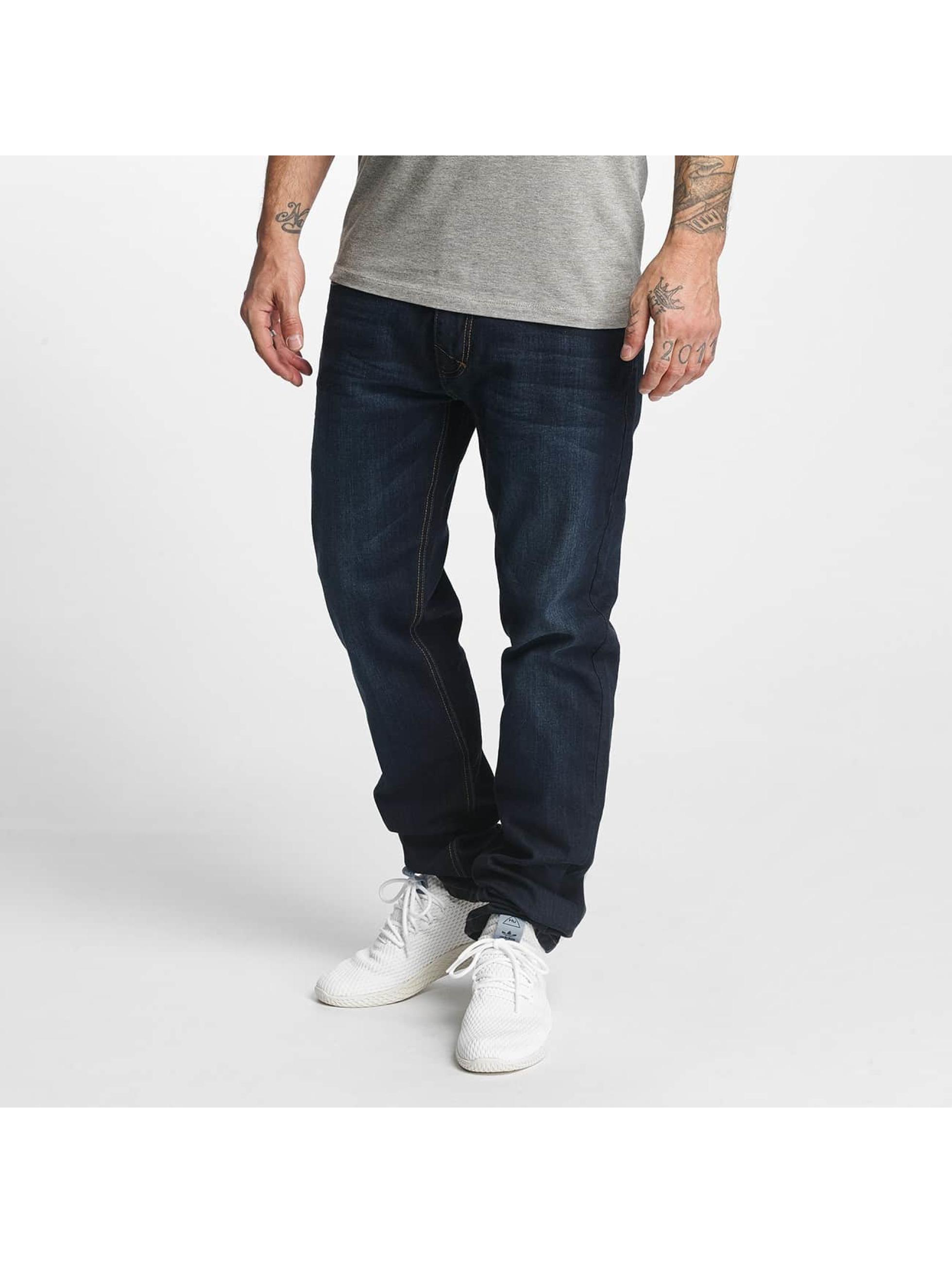 ID Denim Männer Straight Fit Jeans Basic in blau