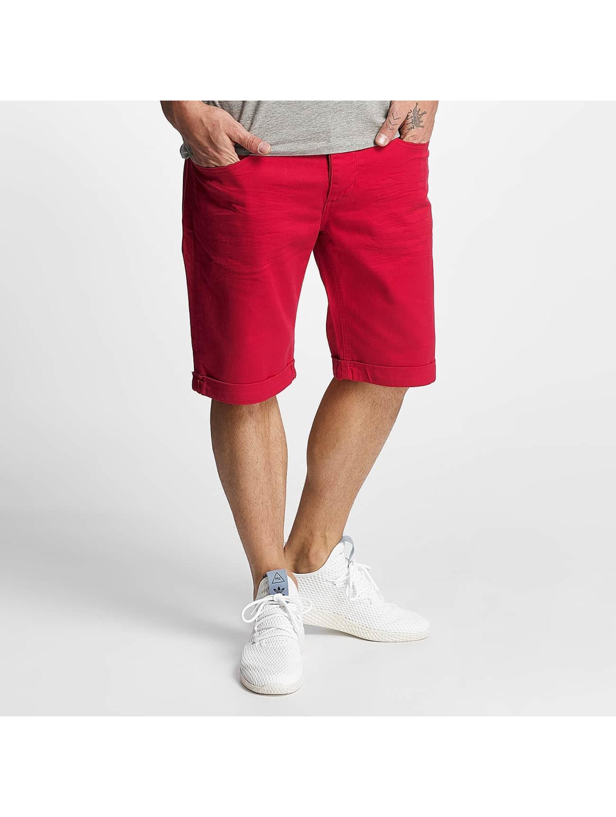 ID Denim Männer Shorts Twill in rot