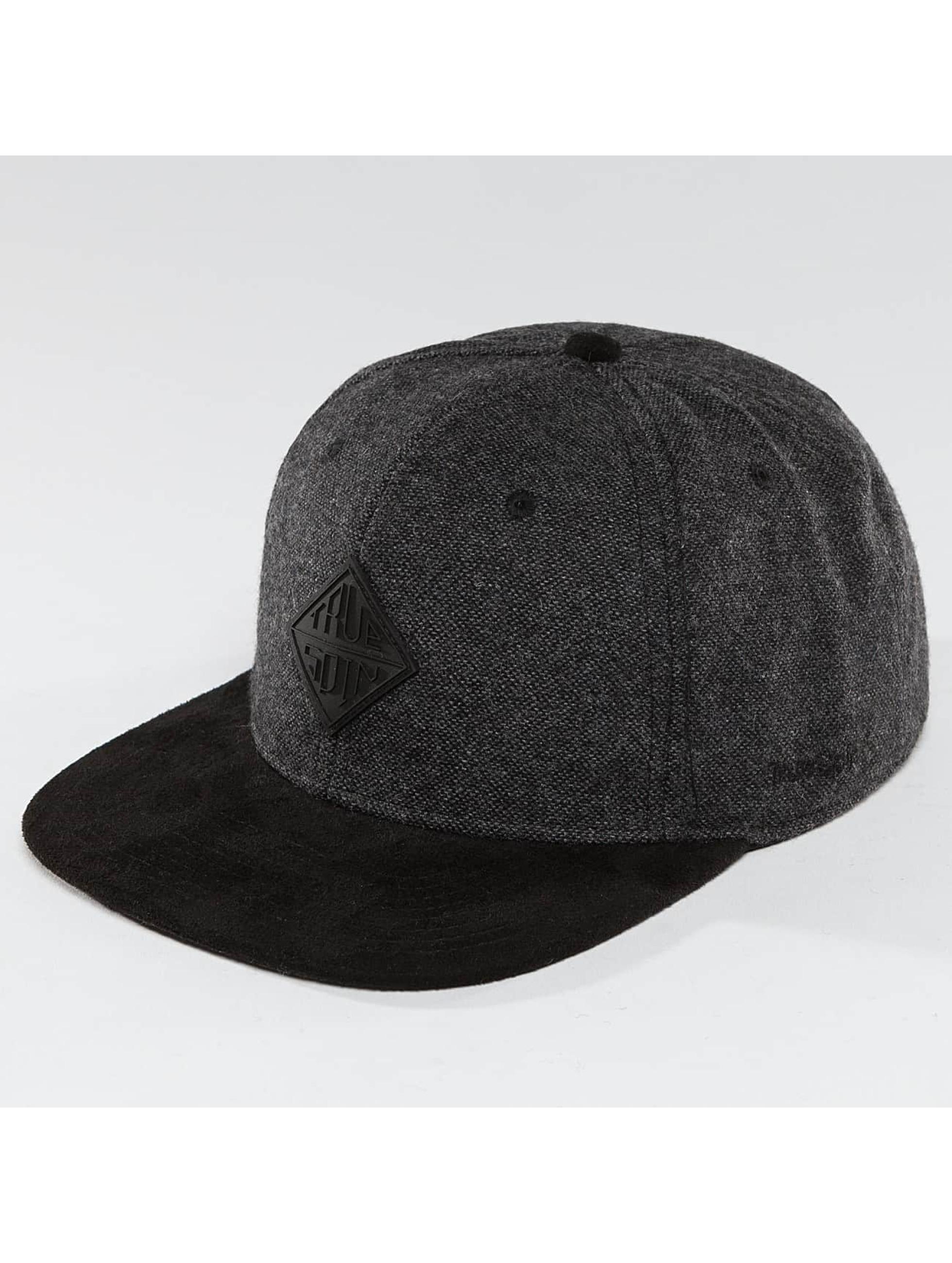 TrueSpin Männer,Frauen Snapback Cap Rubber Taper in grau