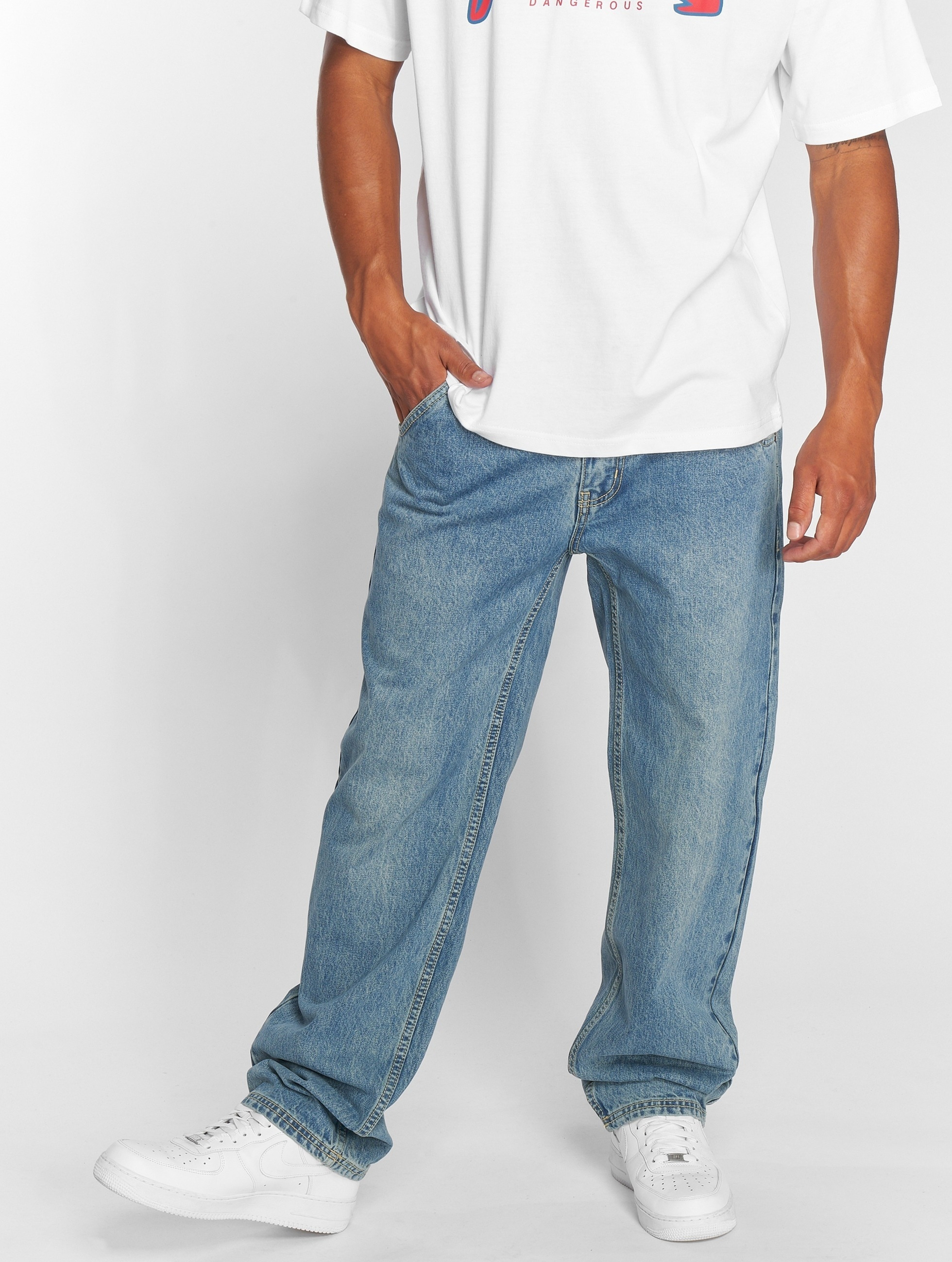Dangerous DNGRS / Loose Fit Jeans Brother in blue W 38 L 34