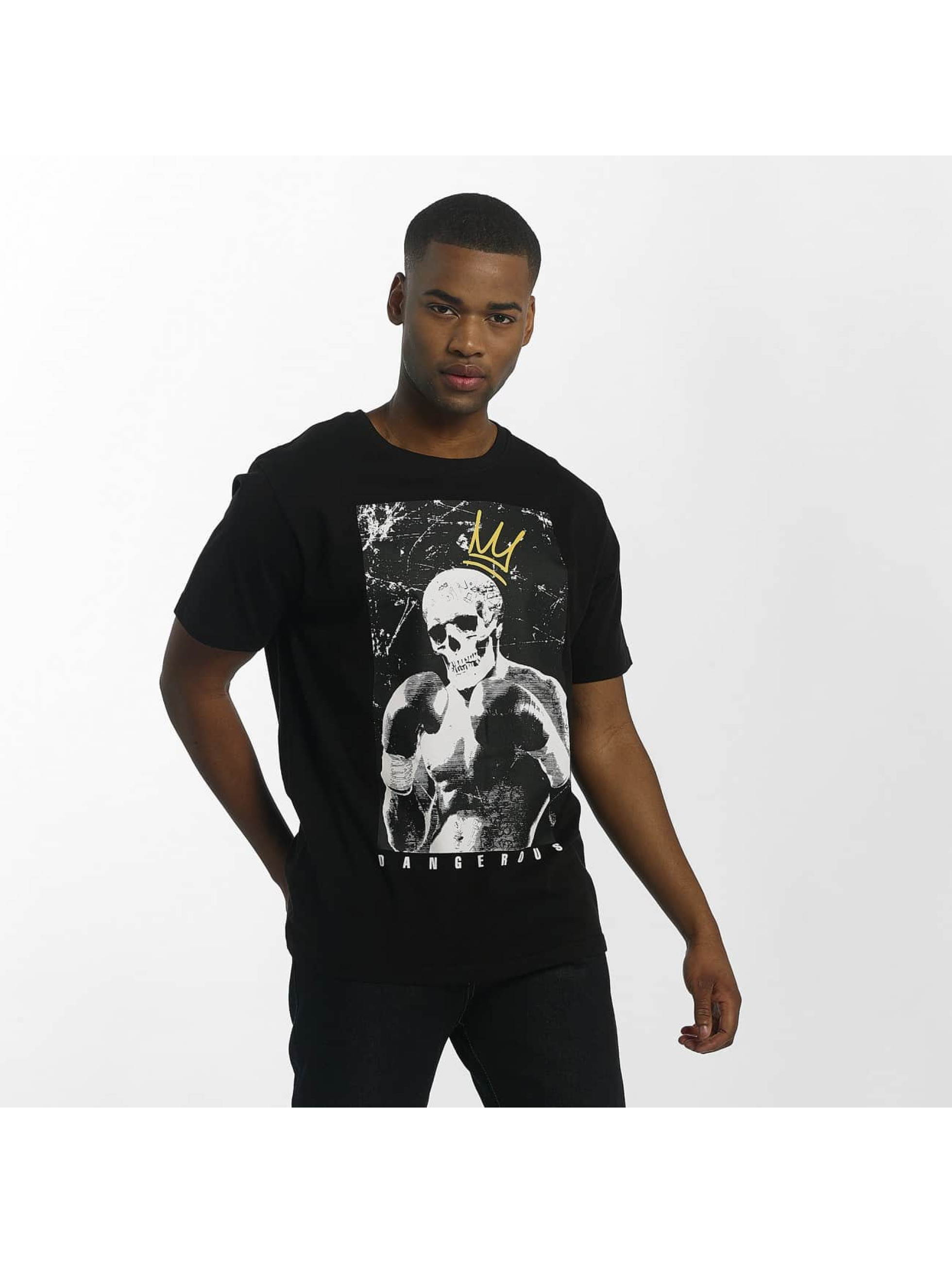 Dangerous DNGRS / T-Shirt Boxskull in black L