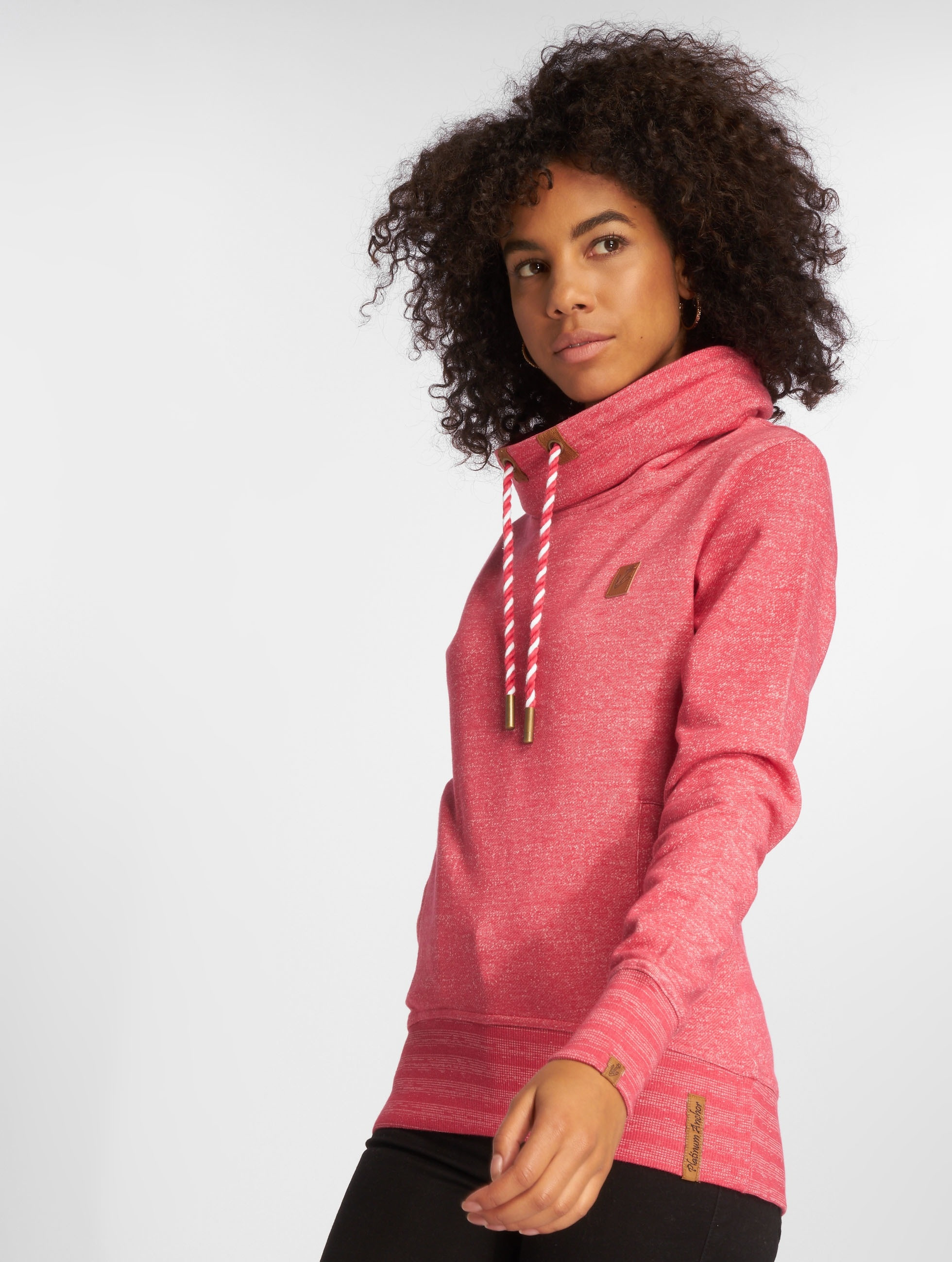 Platinum Anchor Frauen Pullover Makena in rot