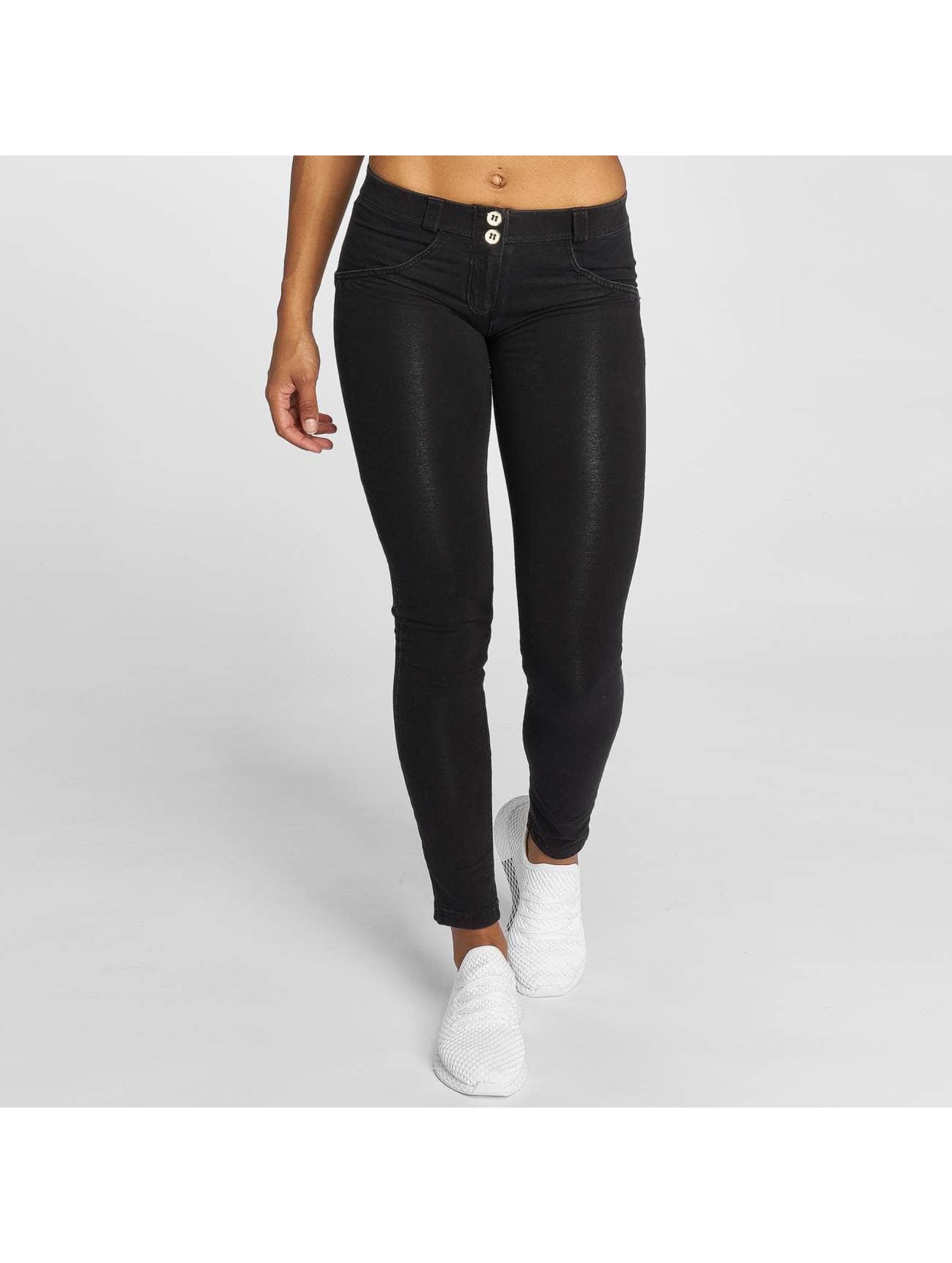 Freddy Frauen Skinny Jeans Laura in schwarz