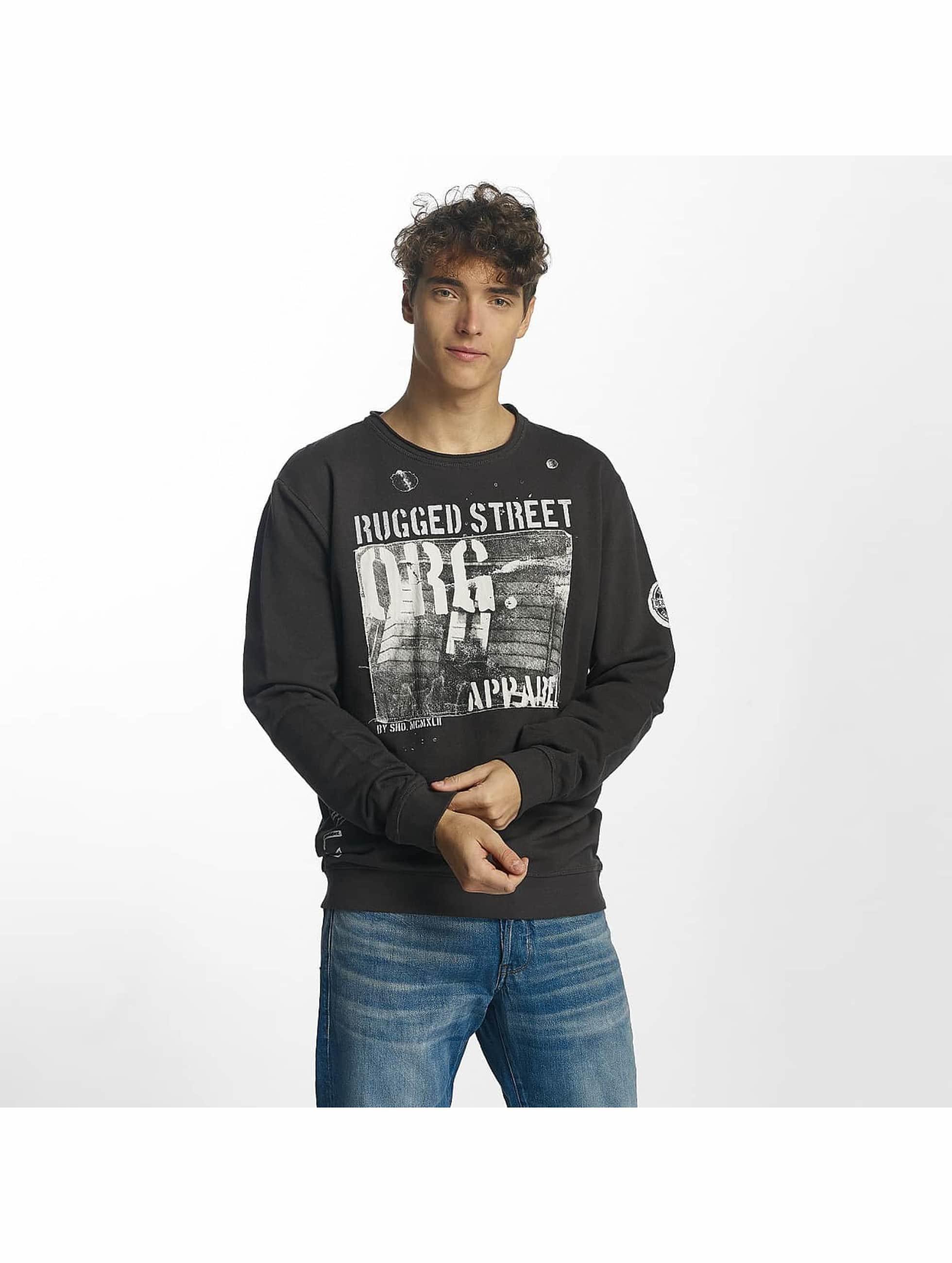 SHINE Original Männer Pullover Jimmy Rugged in schwarz