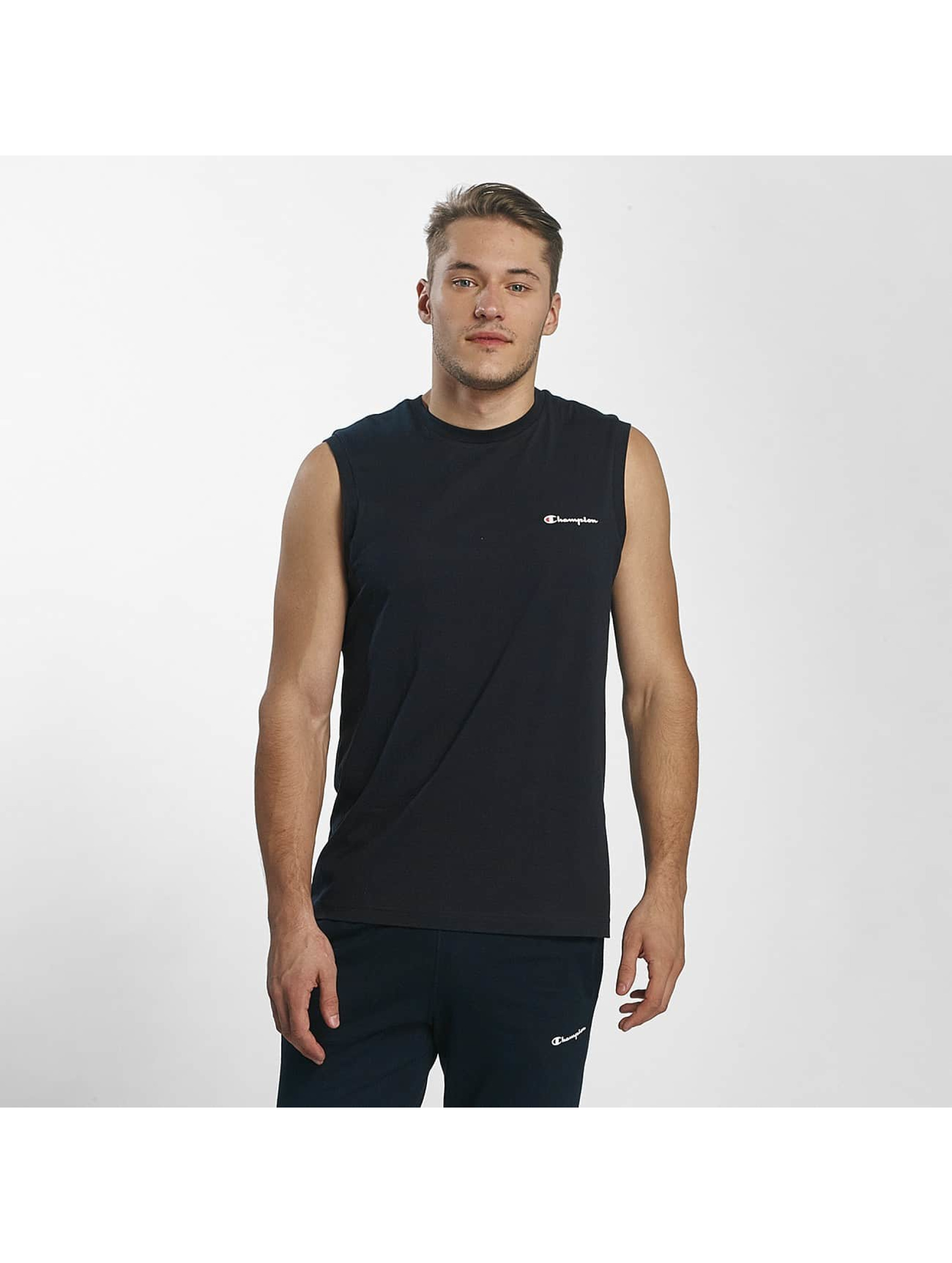 Champion Athletics Männer T-Shirt Sleeveless in blau