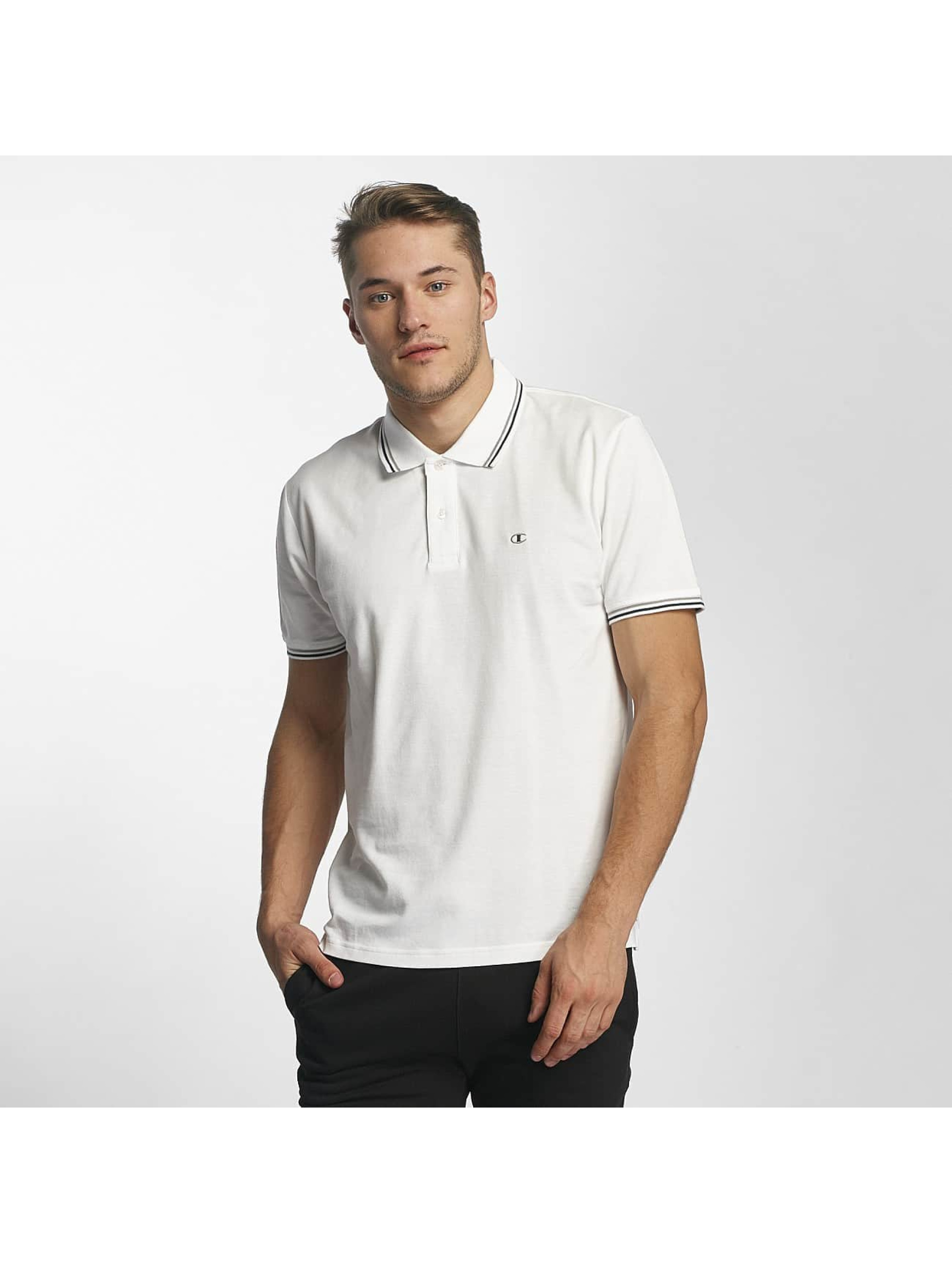 Champion Athletics Männer Poloshirt Metropolitan in weiß