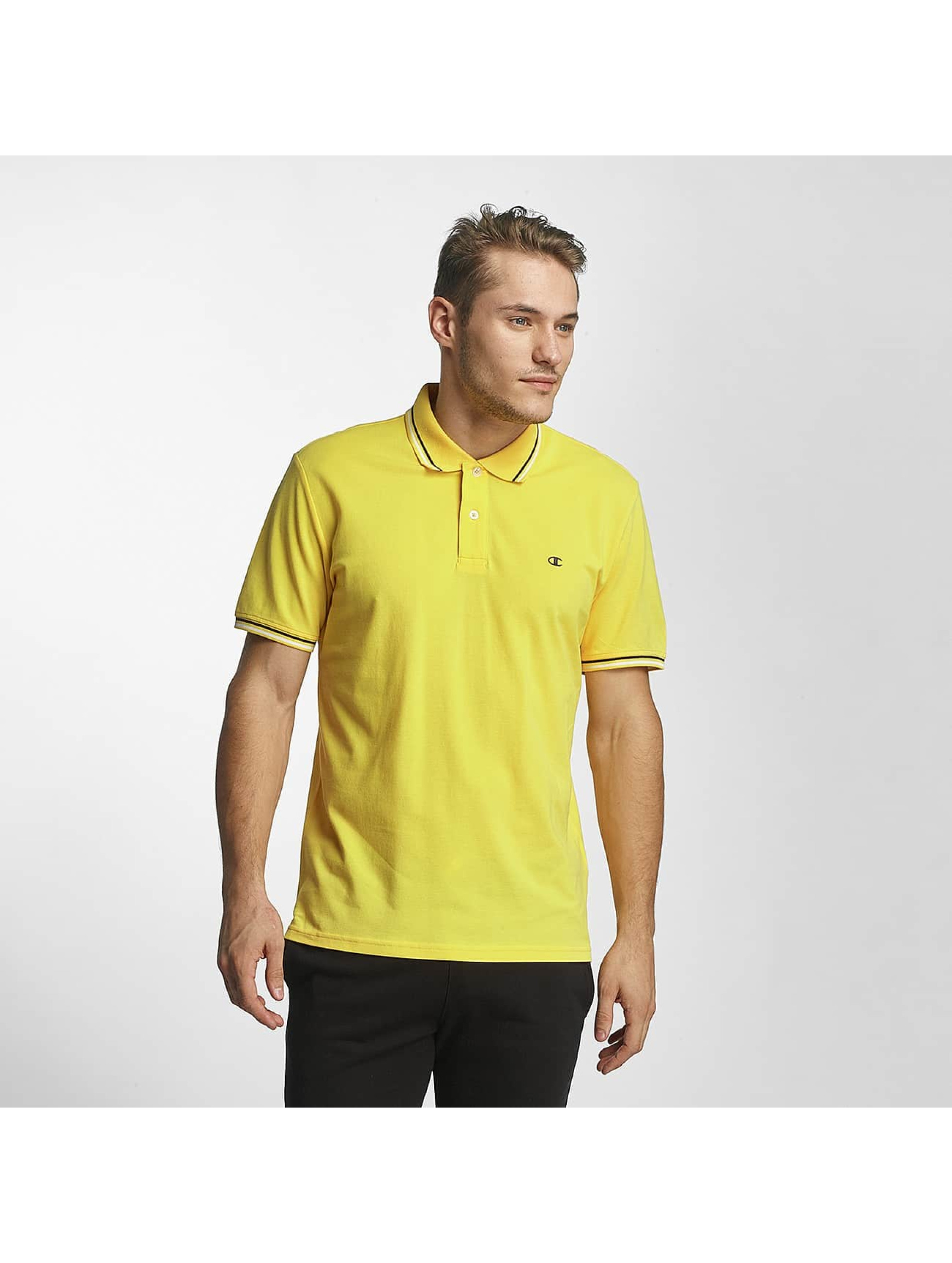 Champion Athletics Männer Poloshirt Metropolitan in gelb