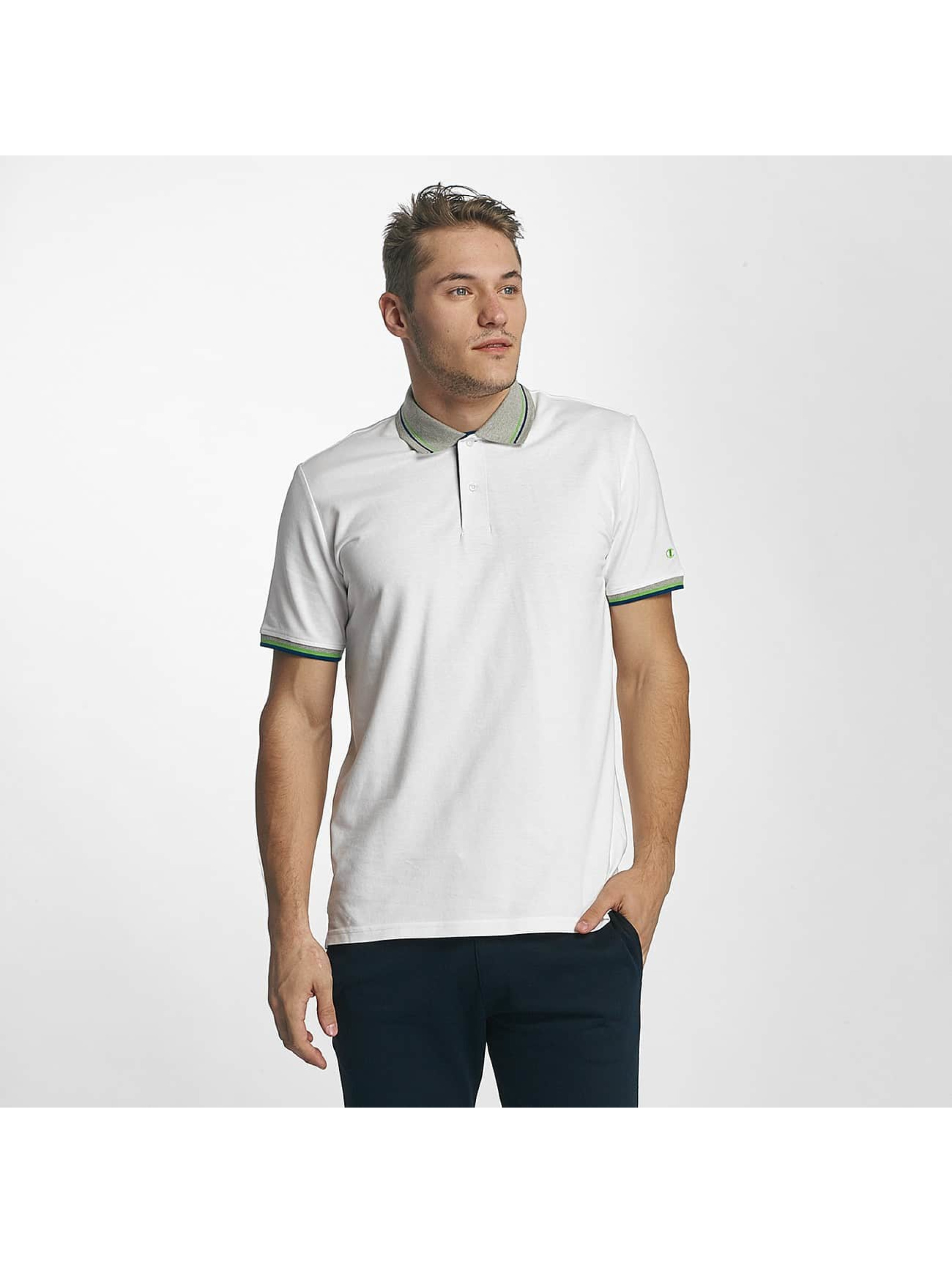 Champion Athletics Männer Poloshirt Basic in weiß