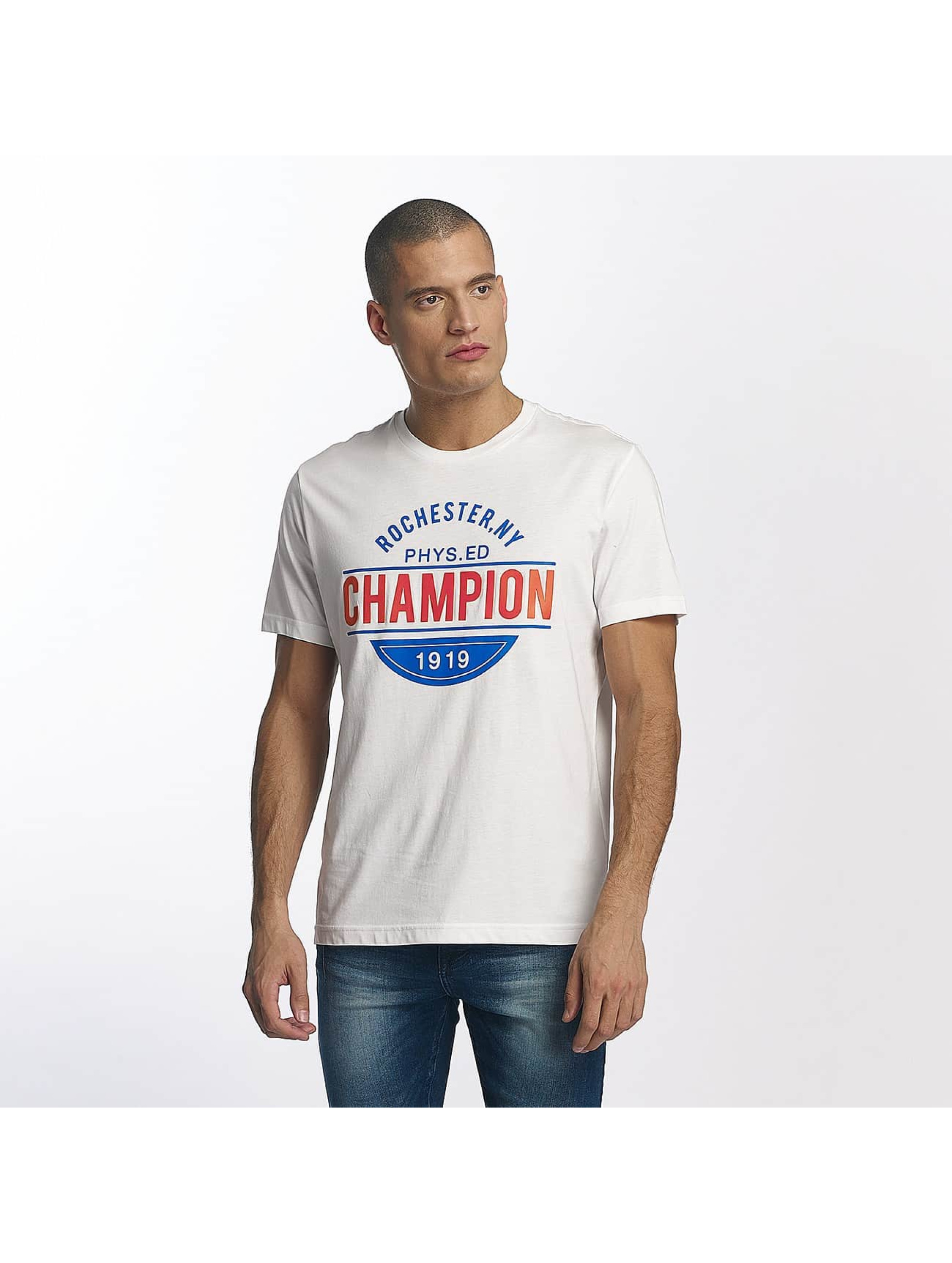 Champion Athletics Männer T-Shirt Rochester New York in weiß