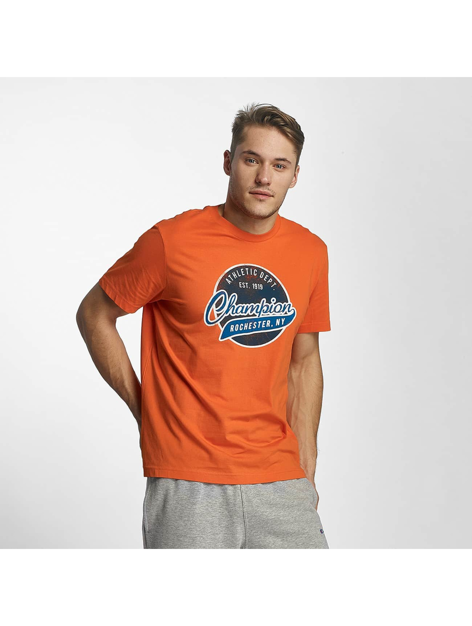 Champion Athletics Männer T-Shirt Bryant Park in orange