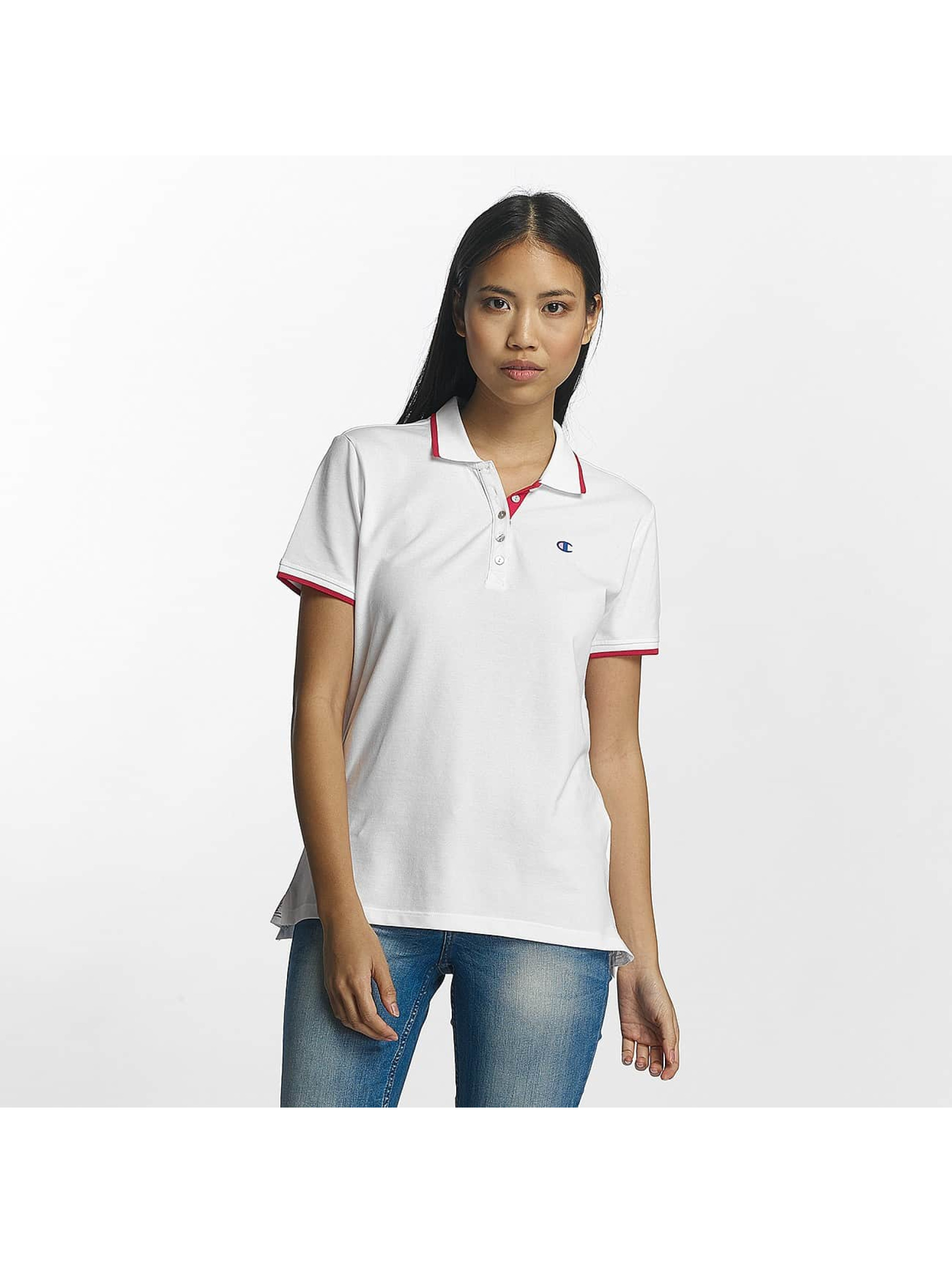 Champion Athletics Frauen Poloshirt Monaco in weiß
