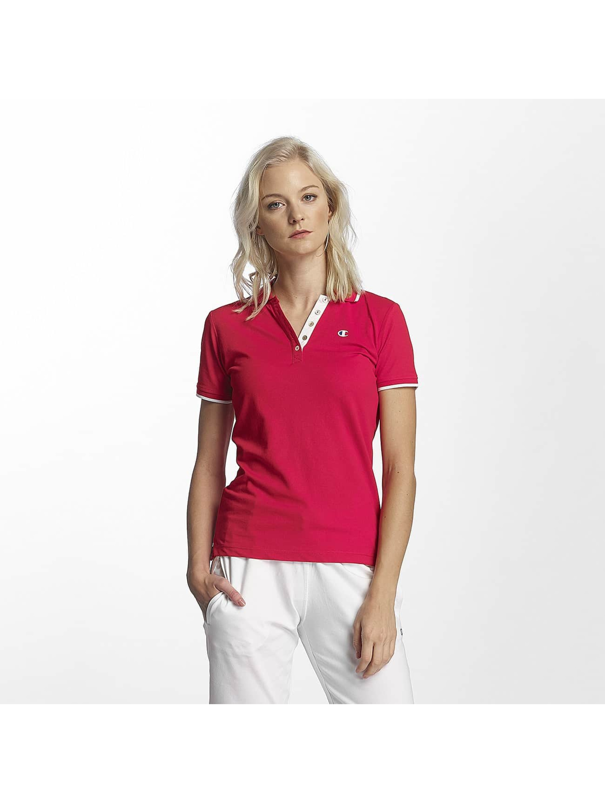 Champion Athletics Frauen Poloshirt Monaco in rot