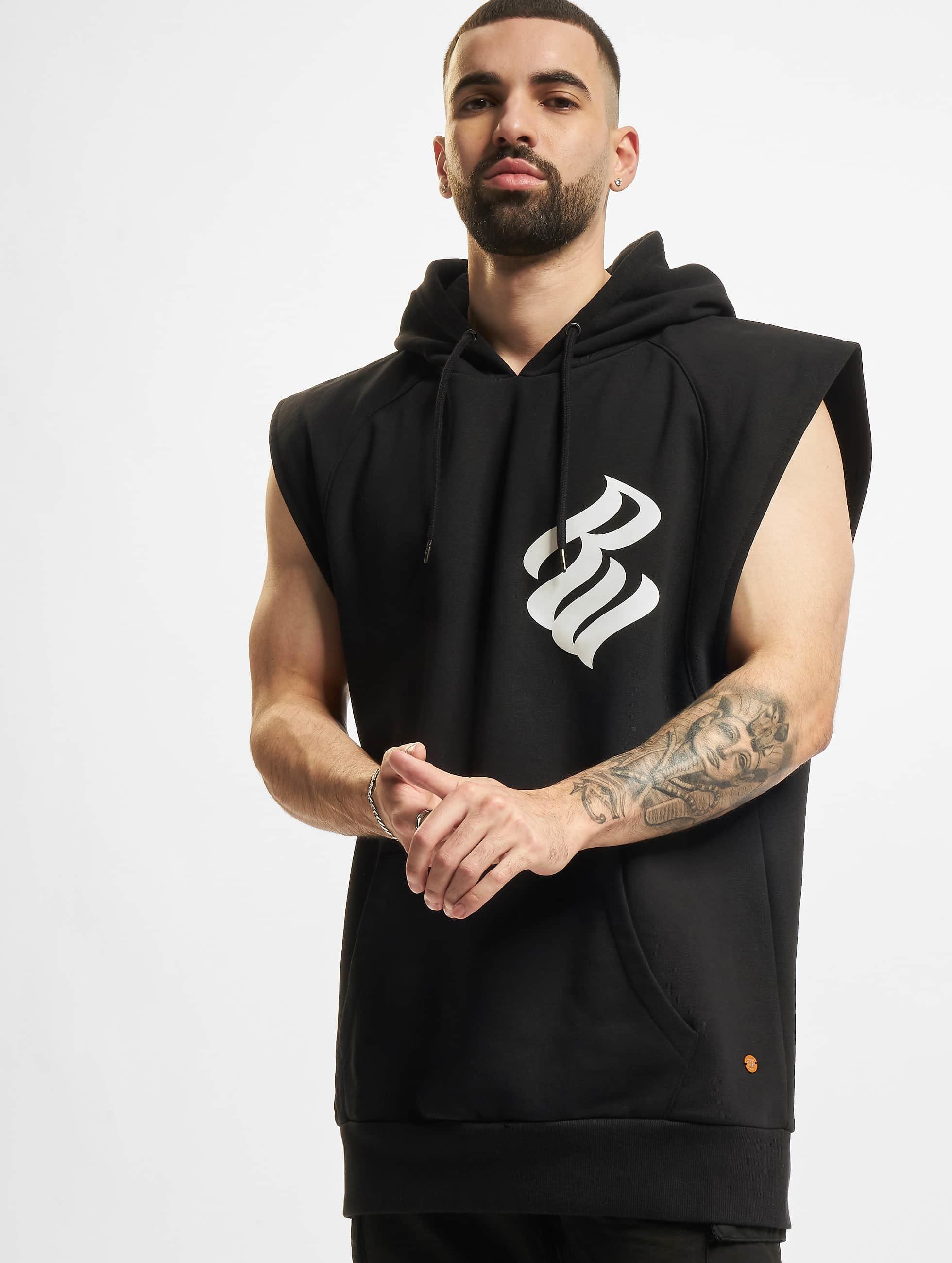 Rocawear / Hoodie Basic in black XL