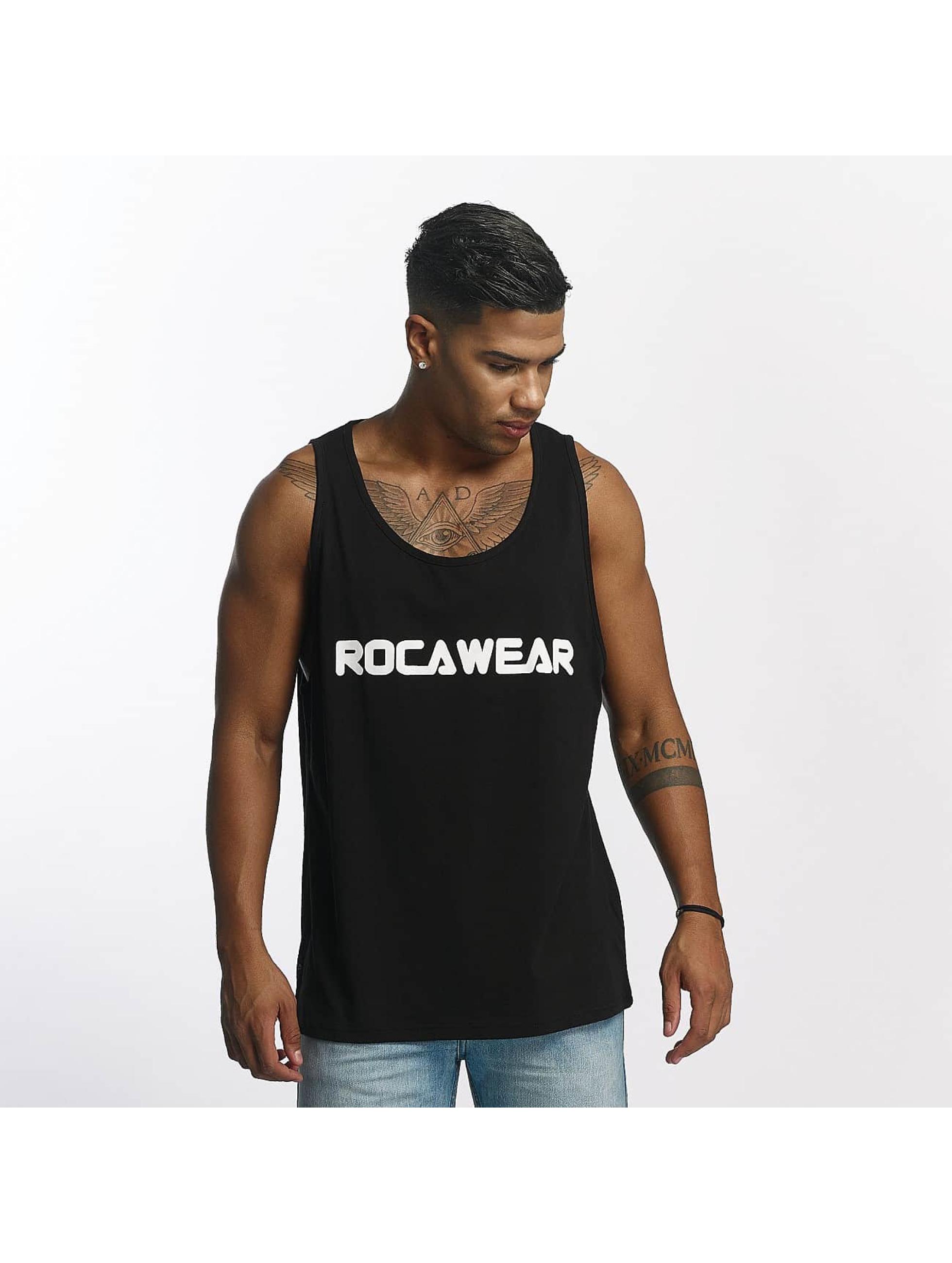 Rocawear / Tank Tops Color Block in black XL