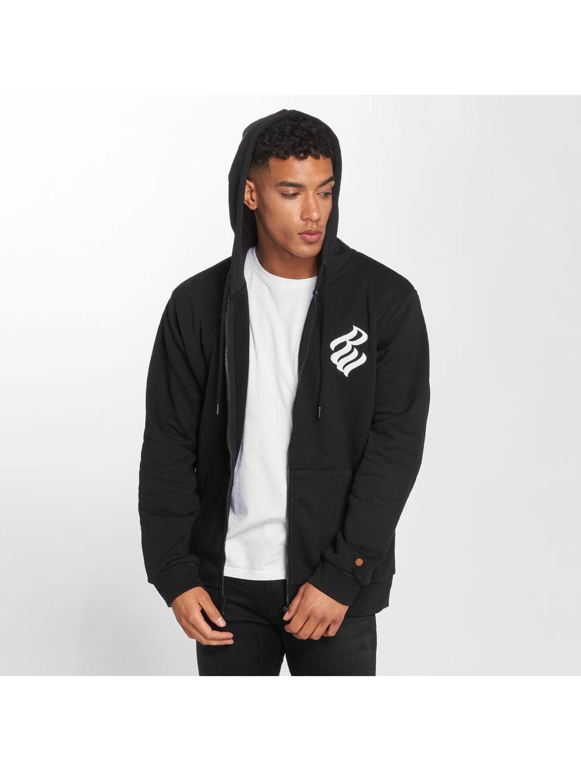Rocawear / Zip Hoodie Brand in black XL