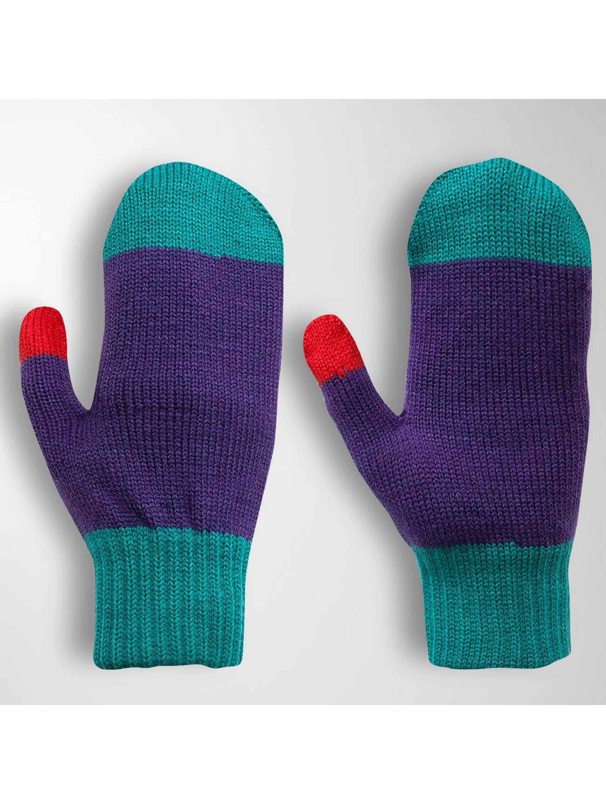 TrueSpin Männer,Frauen Handschuhe Mittens in violet