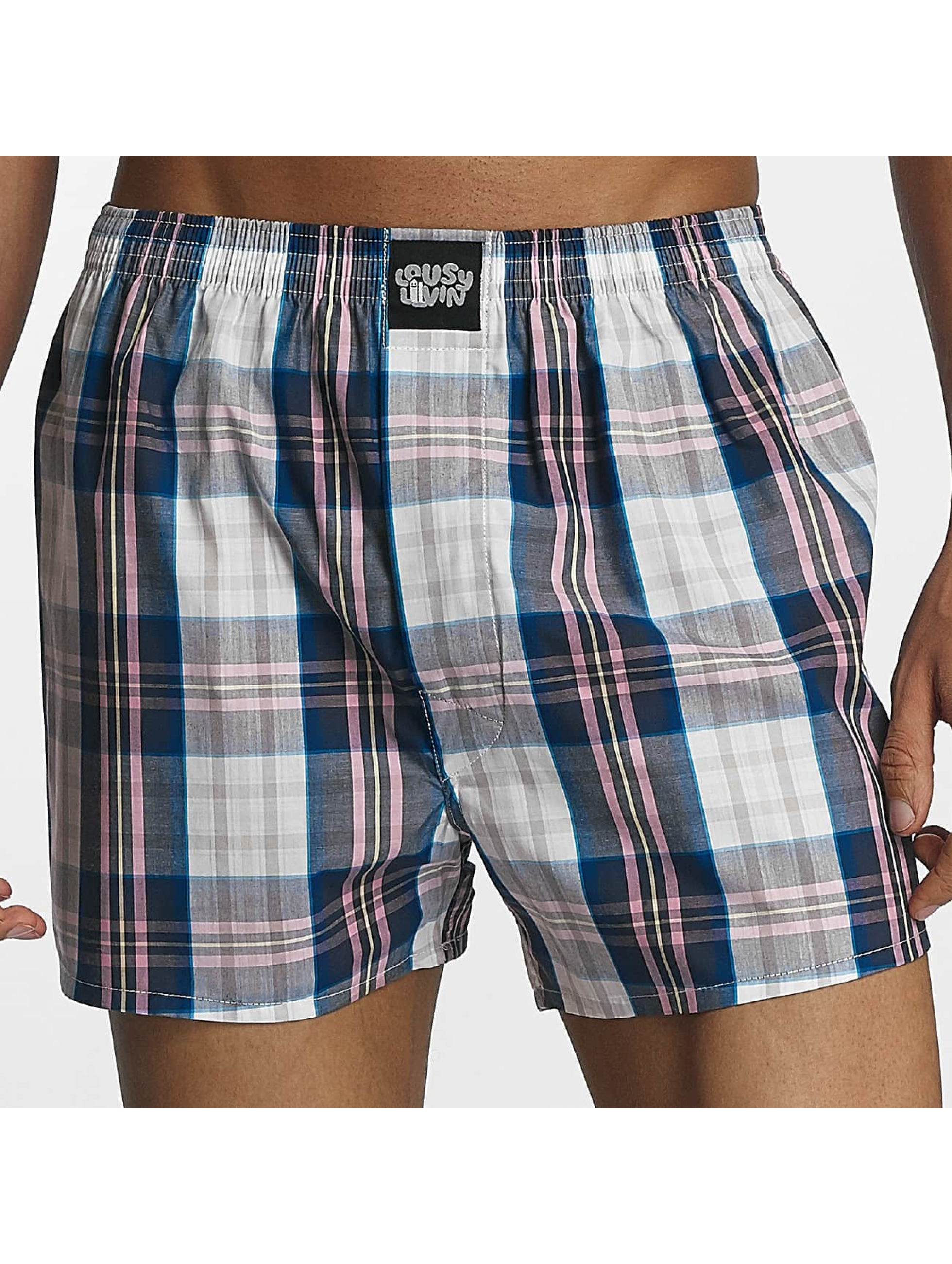 Lousy Livin Männer Boxershorts Lousy Check in rosa