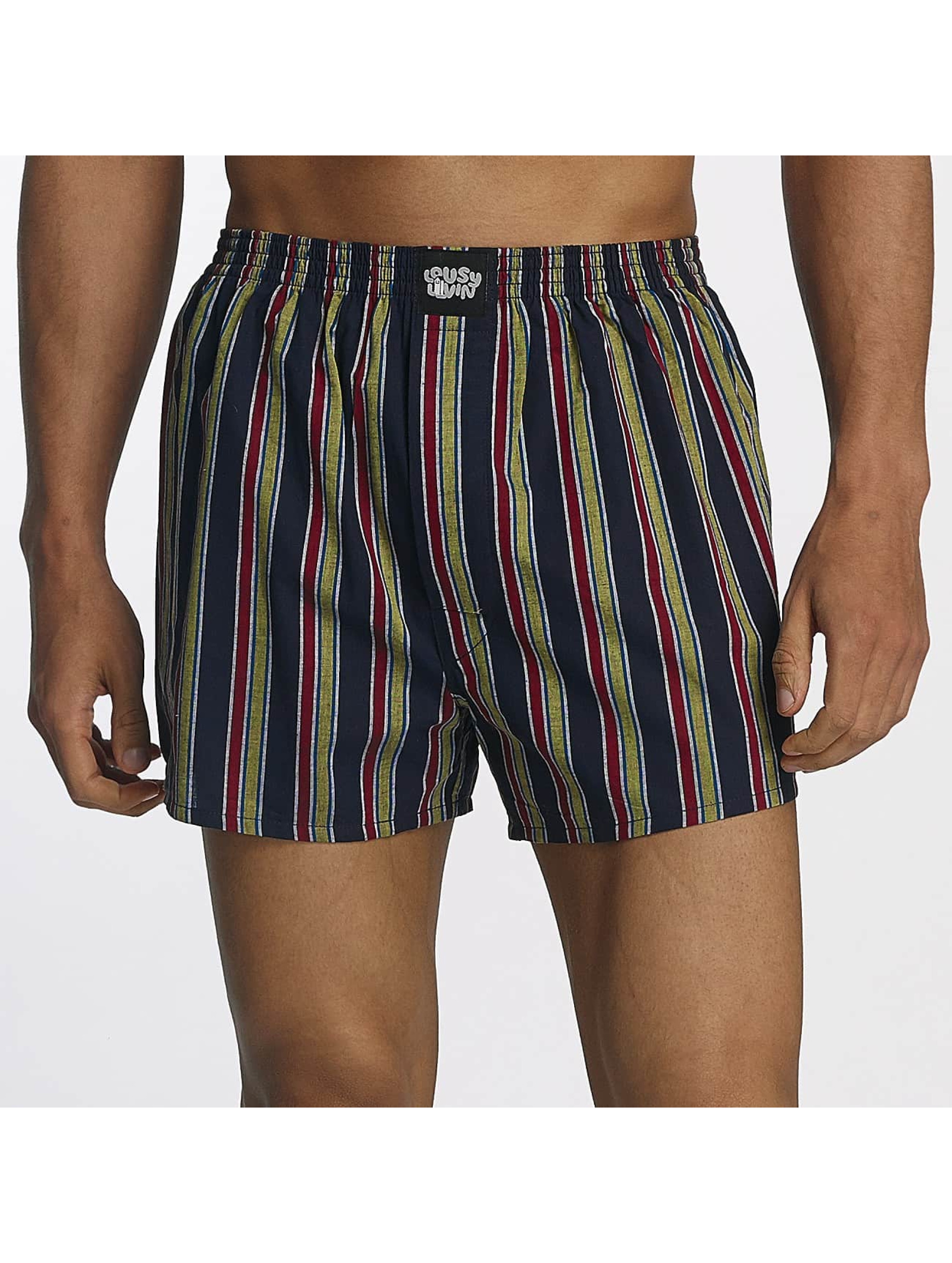 Lousy Livin Männer Boxershorts Lousy Check in blau