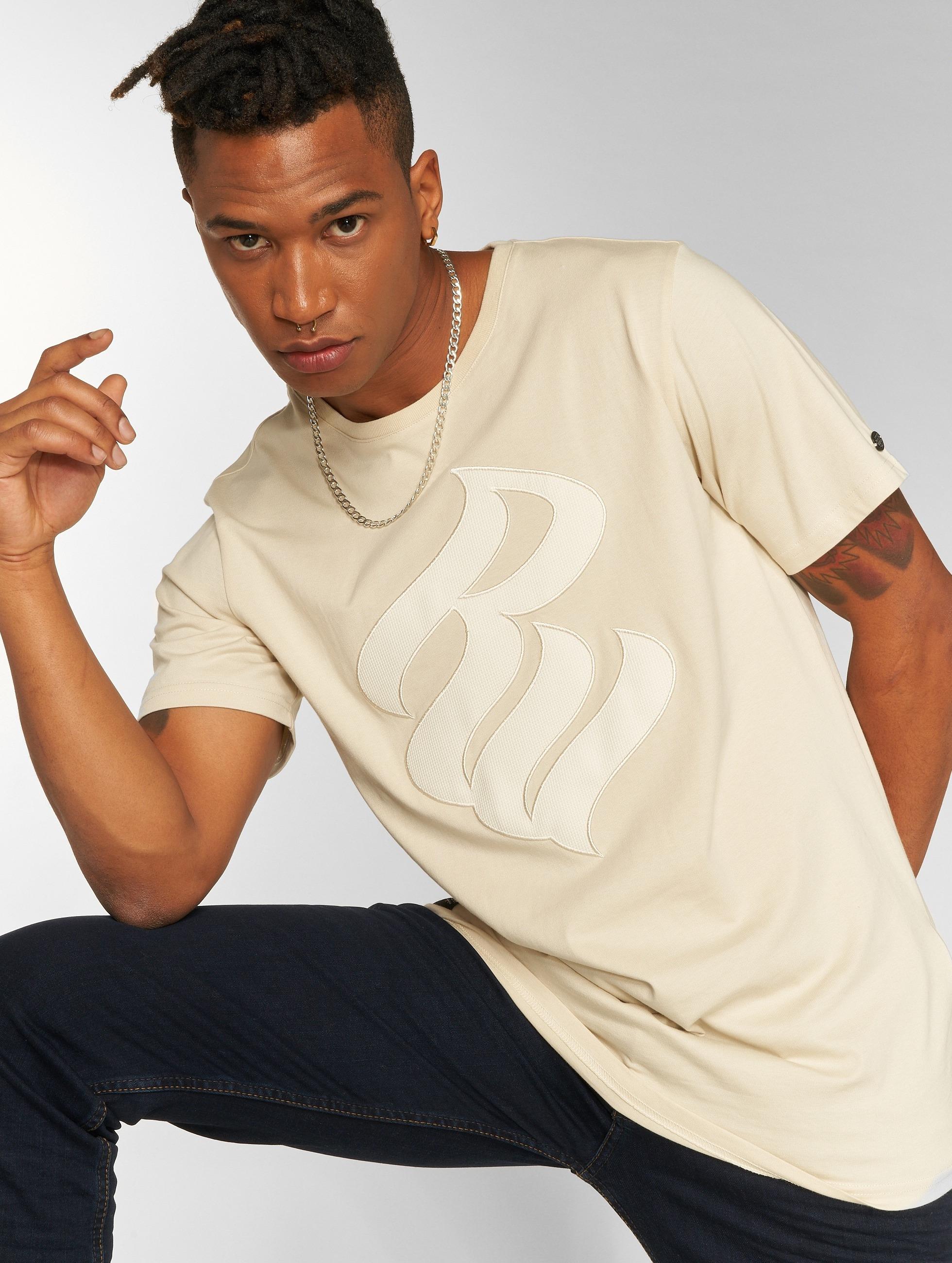Rocawear / T-Shirt John in beige XL