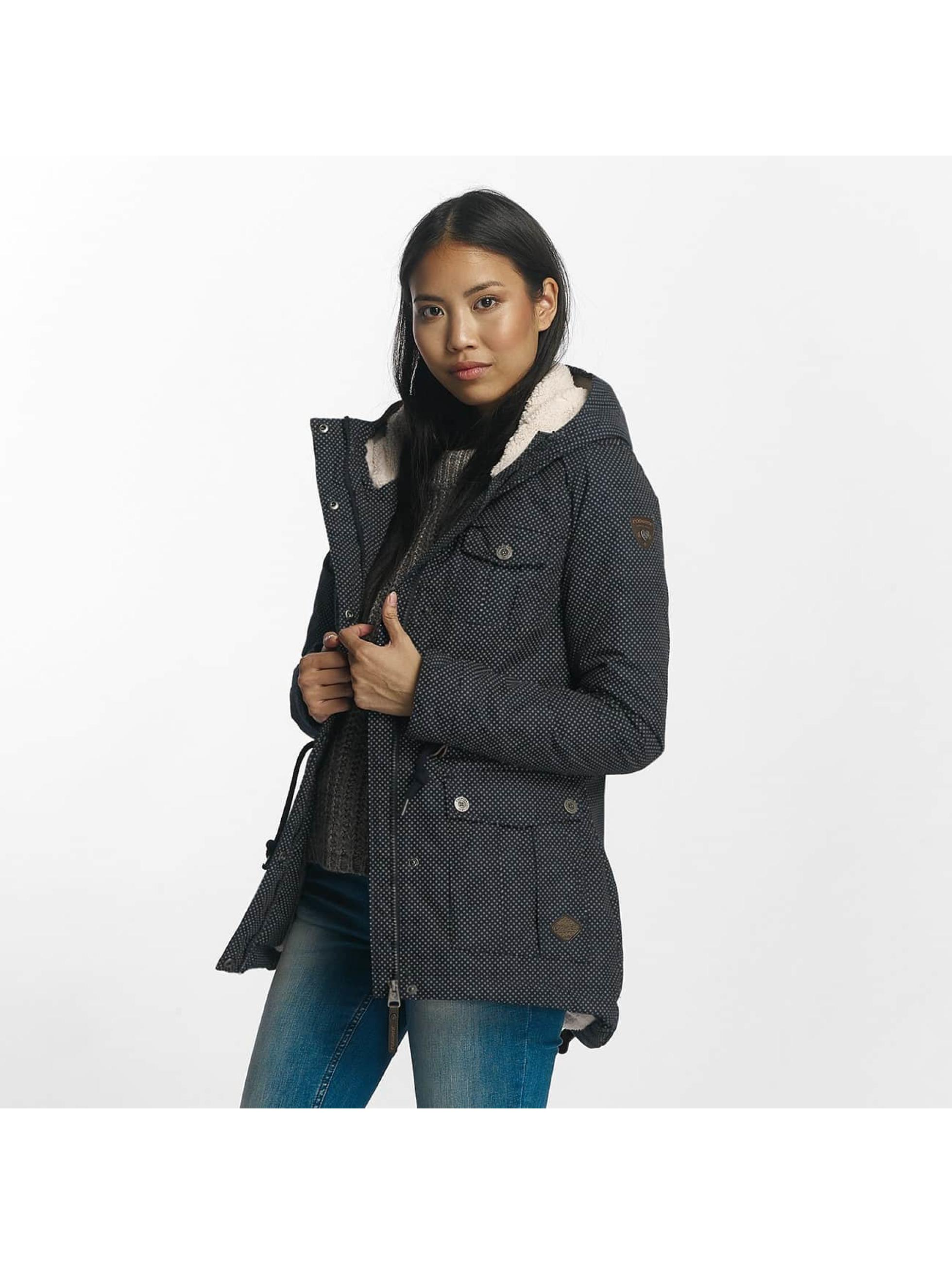 Ragwear Frauen Winterjacke Laika in blau