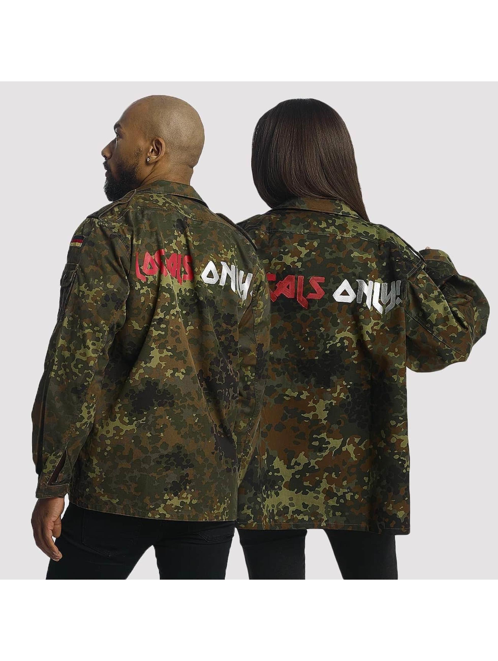 Soniush Männer Übergangsjacke Defshop Exclusive Locals Only! in camouflage