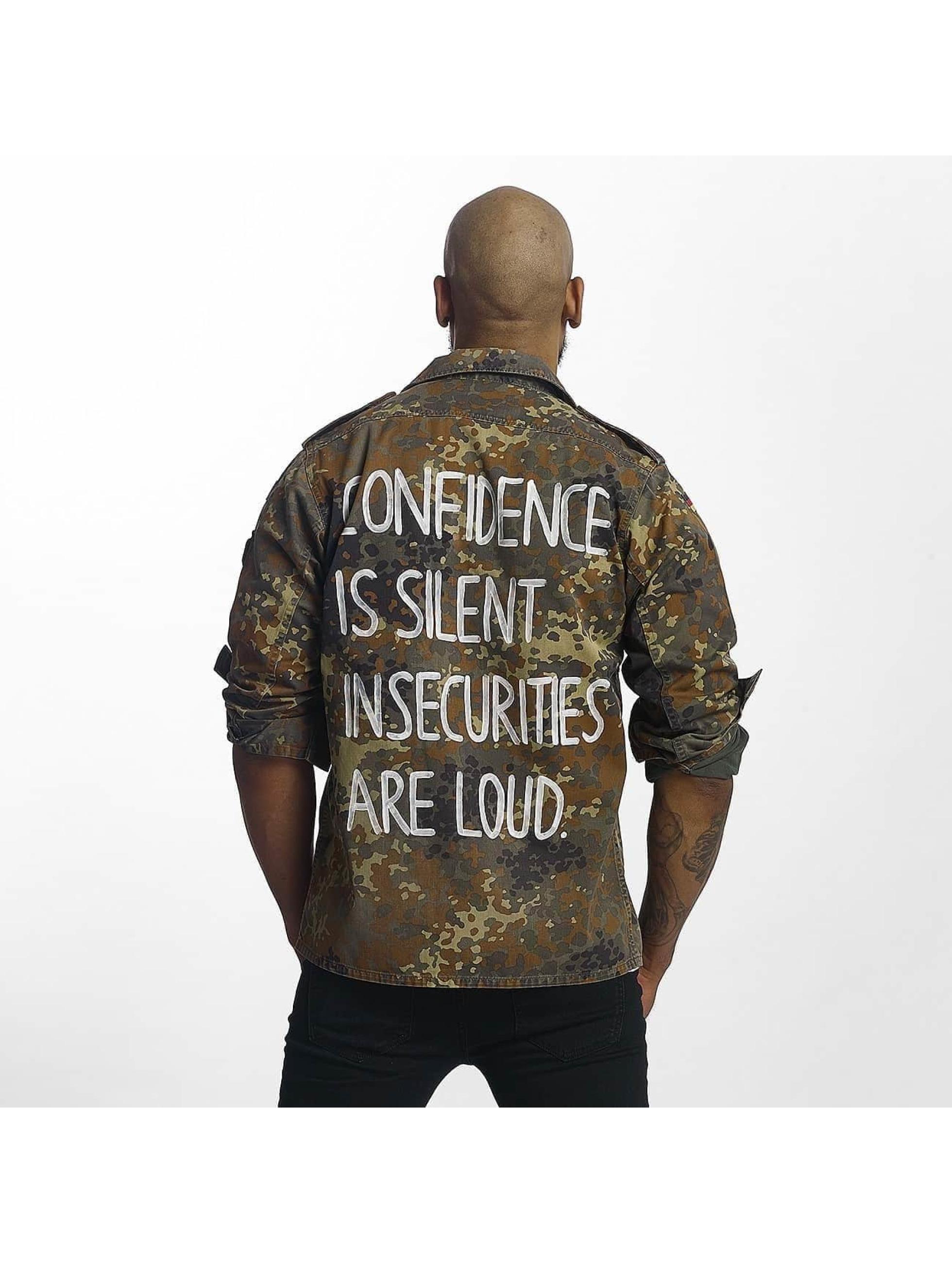 Soniush Männer Übergangsjacke Confidence in camouflage