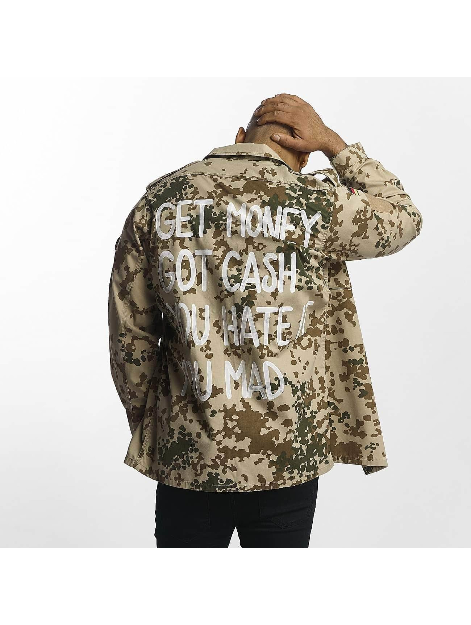 Soniush Männer Übergangsjacke Cash in camouflage