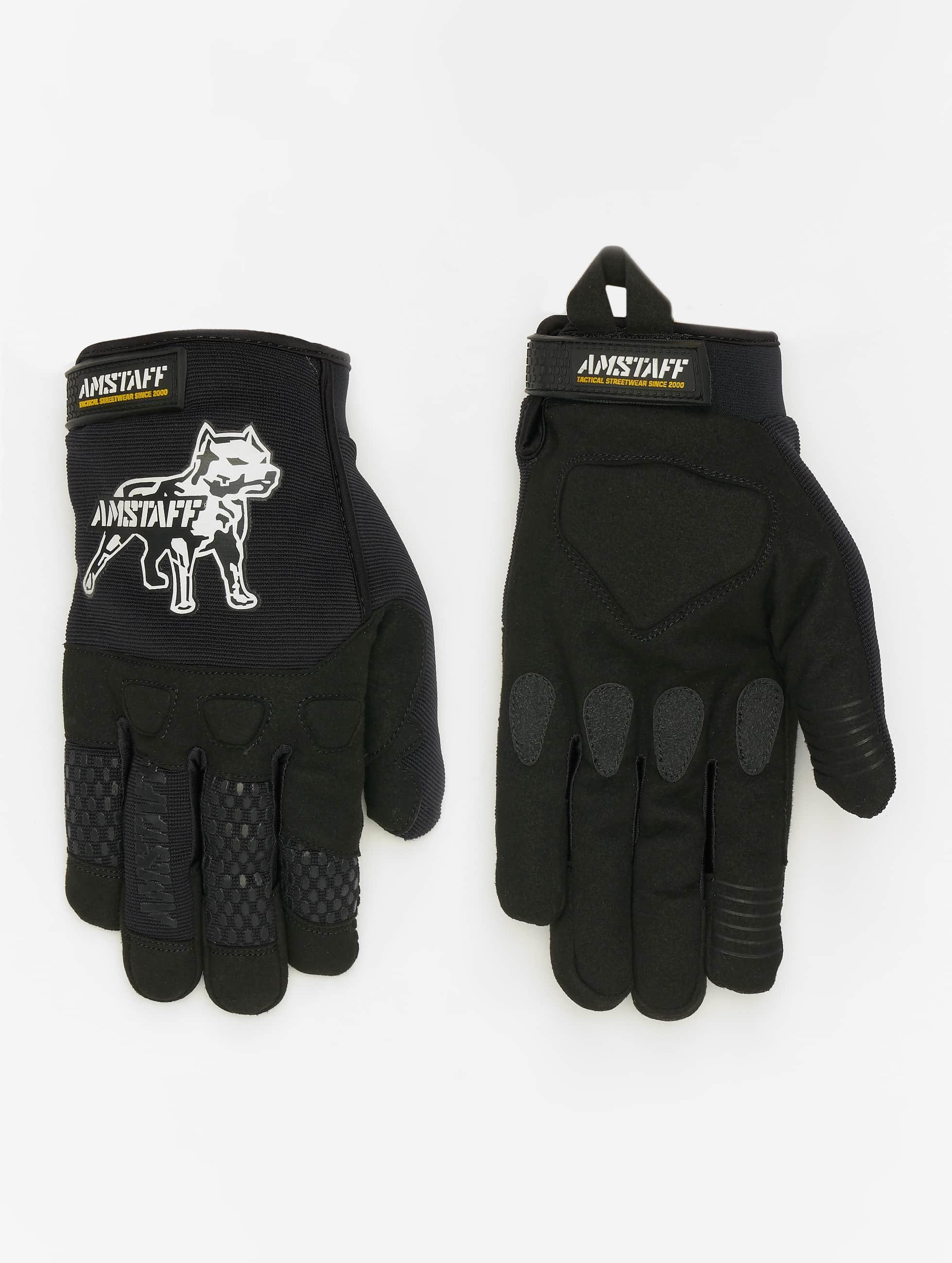 Amstaff Männer,Frauen Handschuhe Esan in schwarz