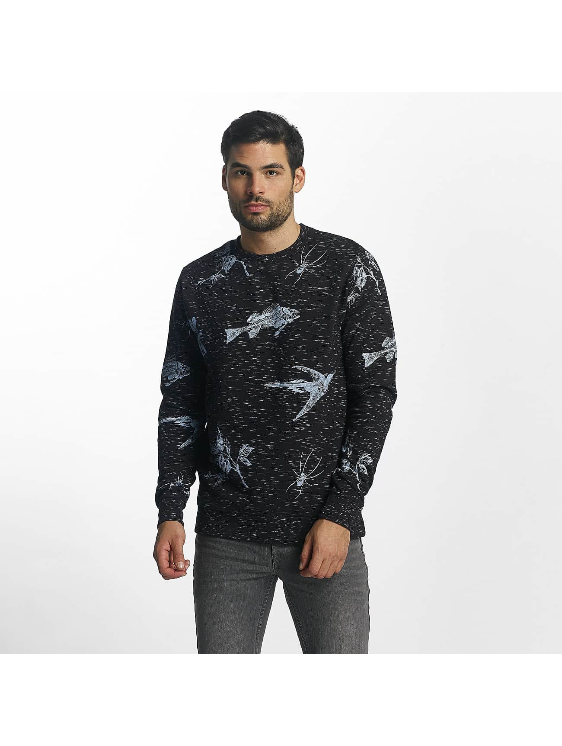 Brave Soul Männer Pullover Sweatshirt in blau