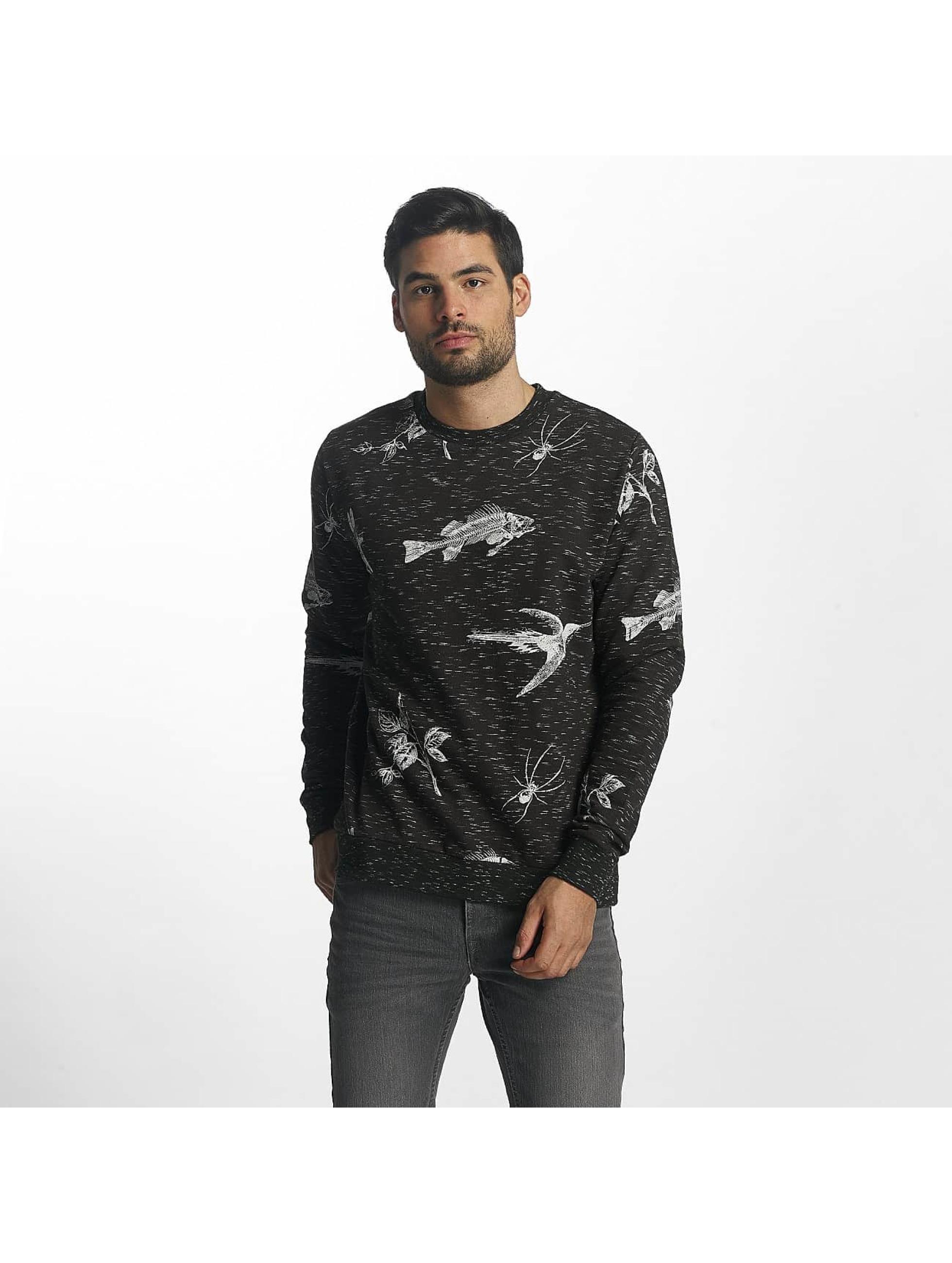 Brave Soul Männer Pullover Sweatshirt in grau
