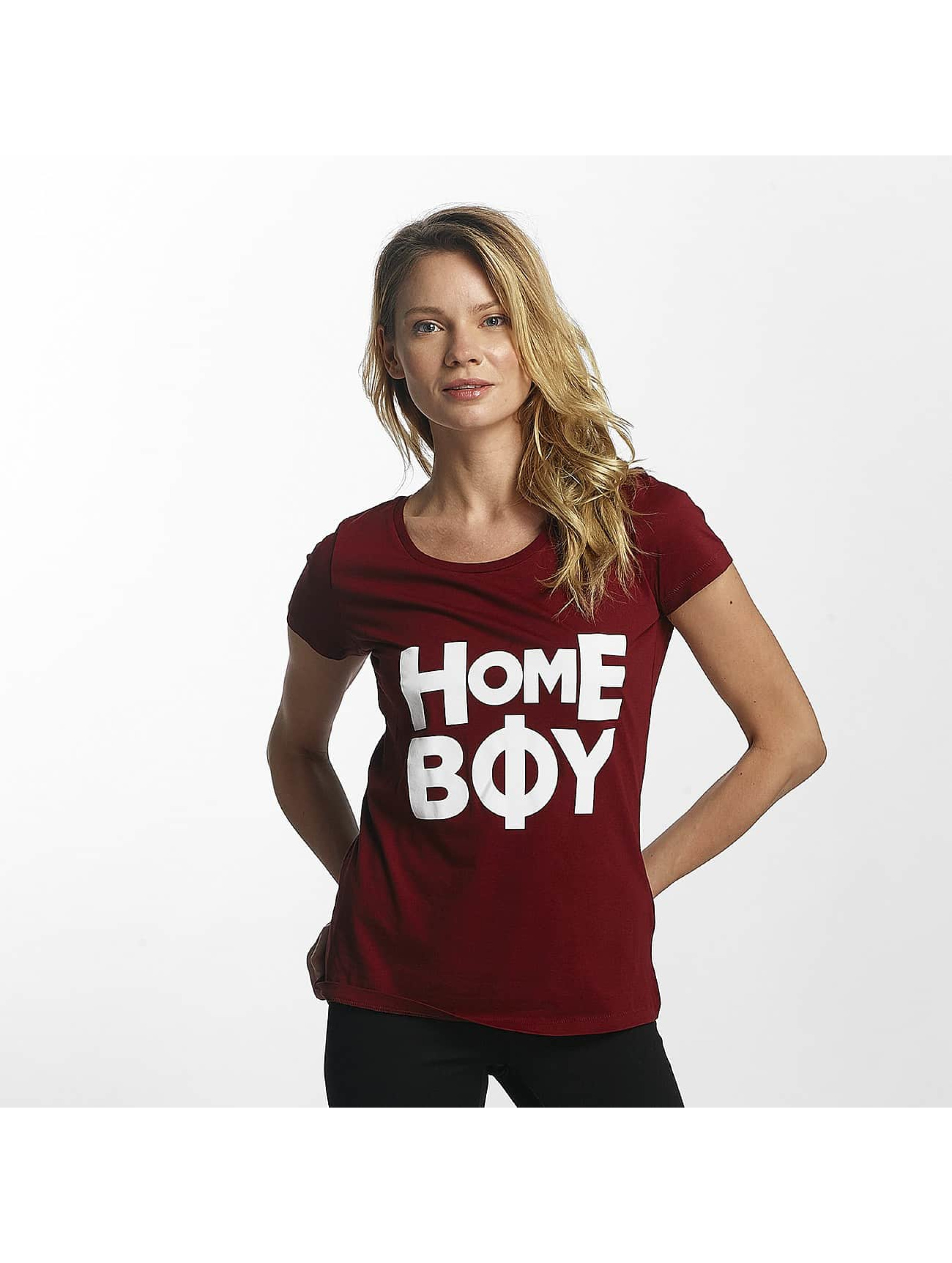 Homeboy Männer T-Shirt Paris in rot