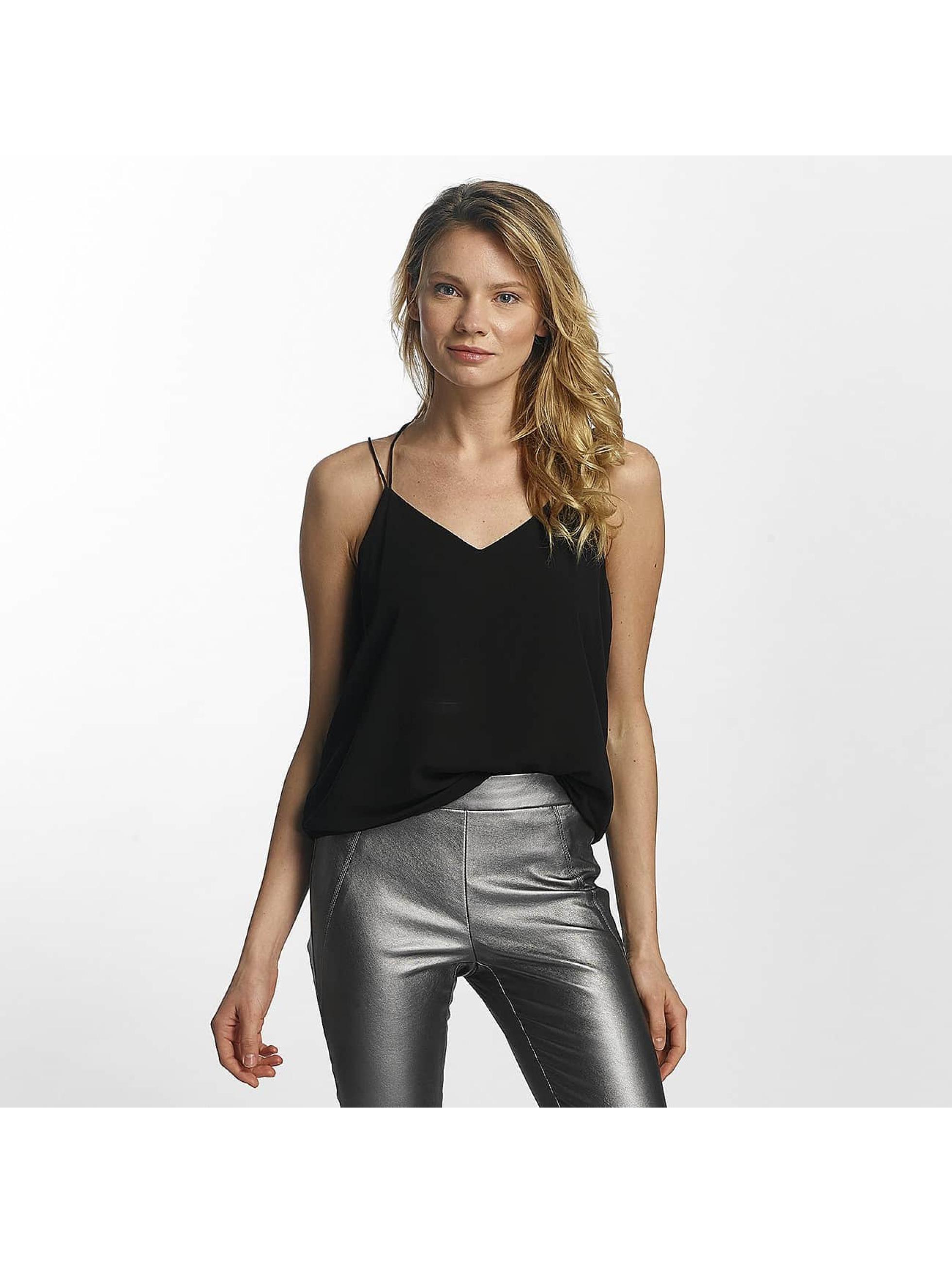 Vero Moda Frauen Top vmSexyback Singlet in schwarz