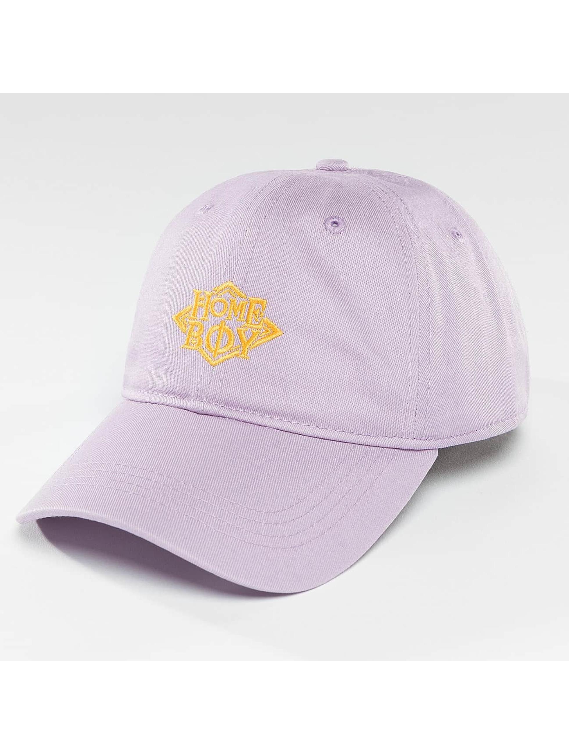 Homeboy Männer,Frauen Snapback Cap Nappo Logo in violet