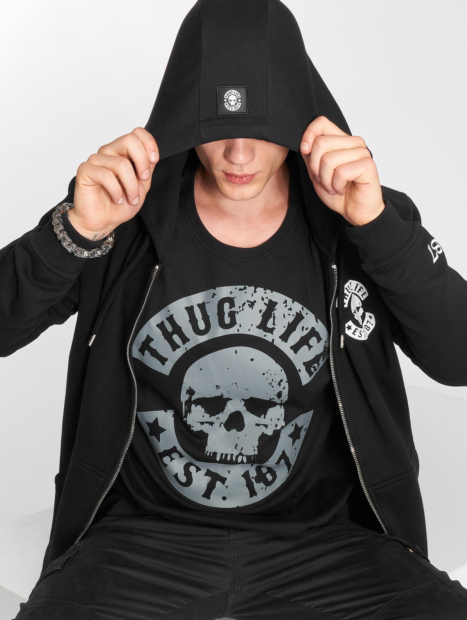 Thug Life / T-Shirt B.Distress in black S