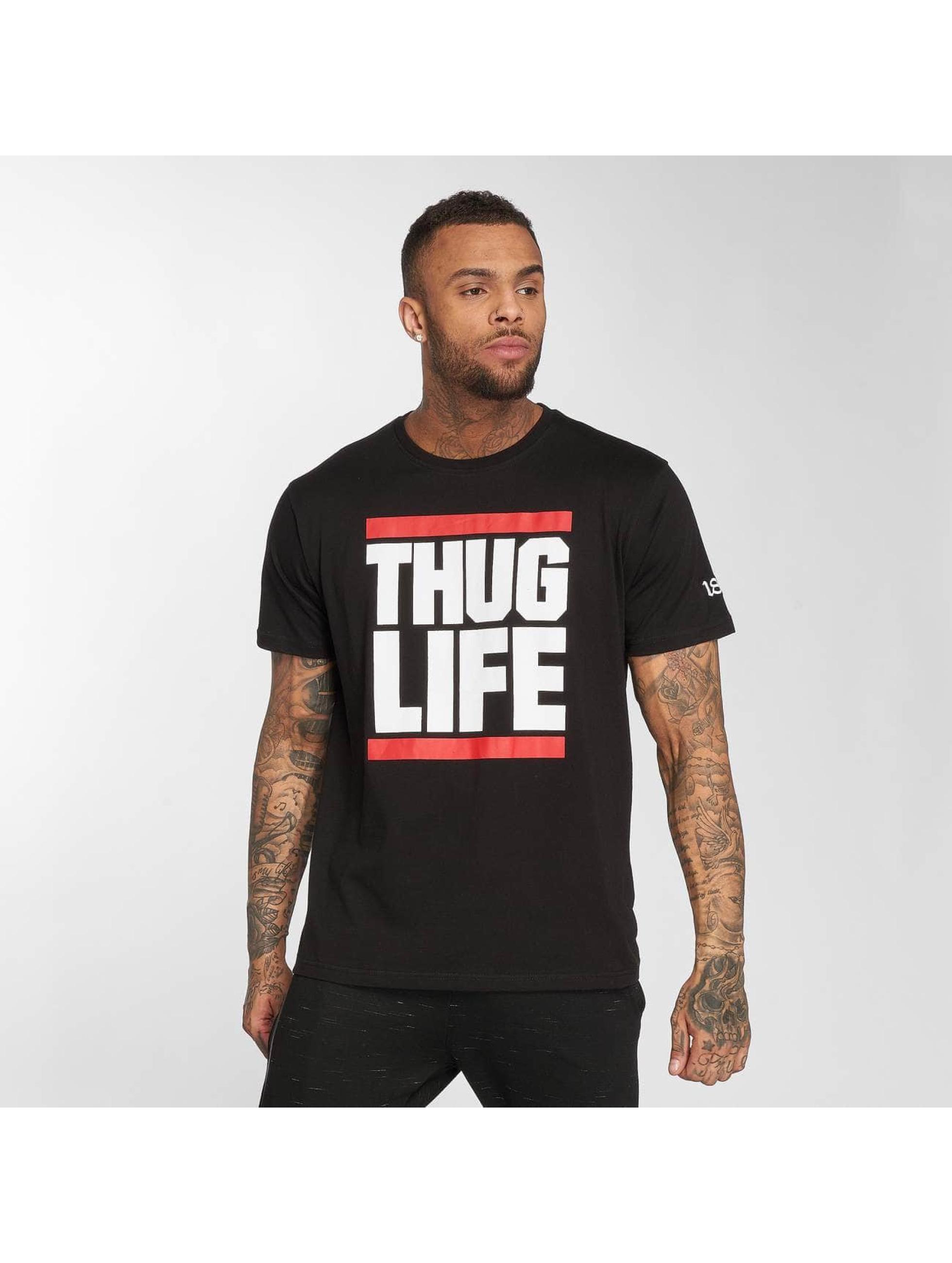 Thug Life / T-Shirt B.Fight in black 4XL