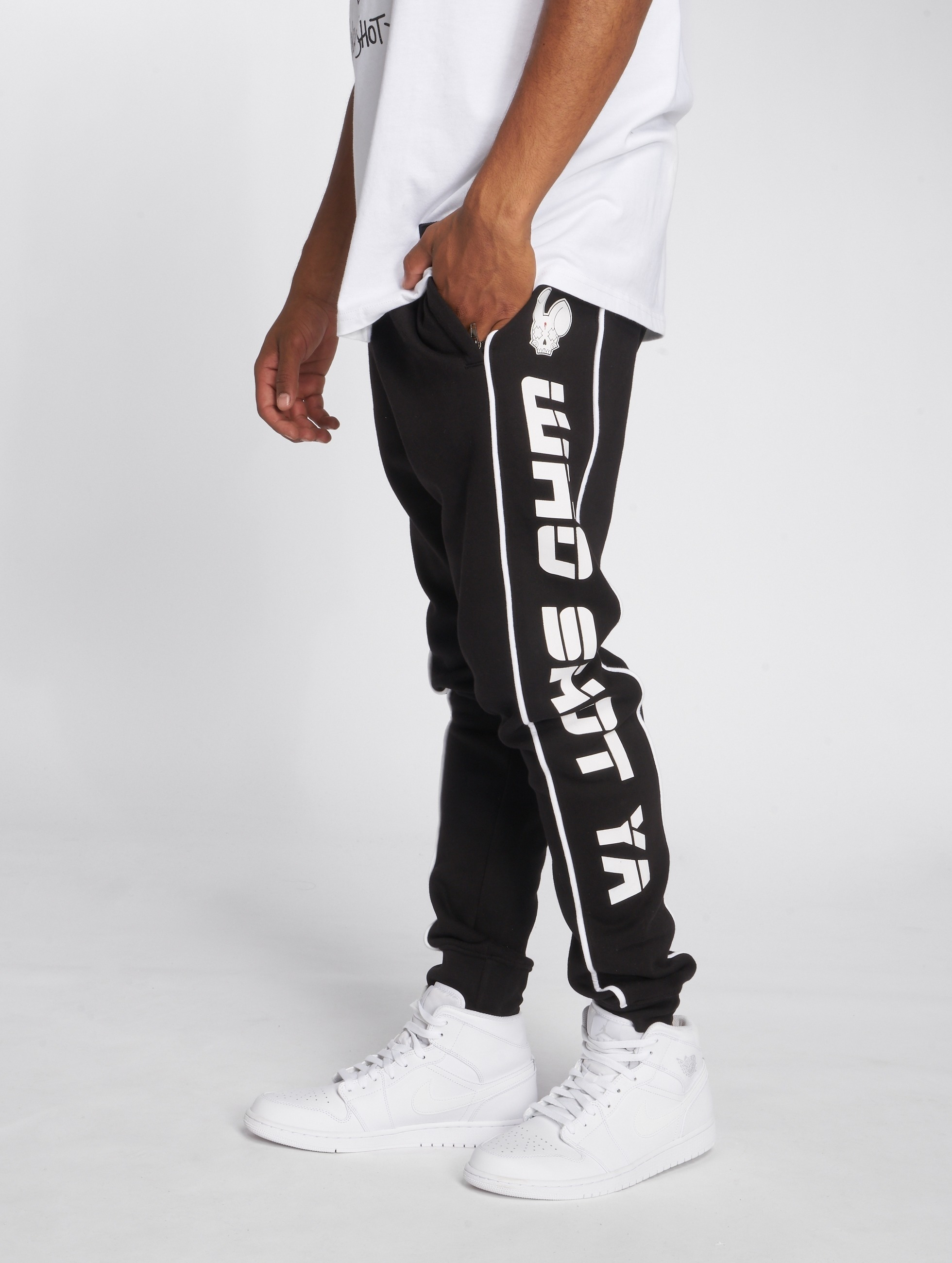 Who Shot Ya? / Sweat Pant Fat Sniper in black S